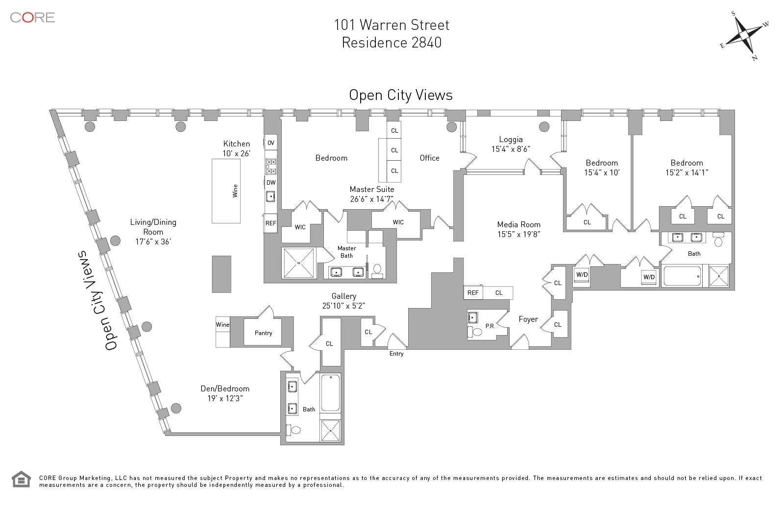 101 Warren St. 2840, New York, NY 10013