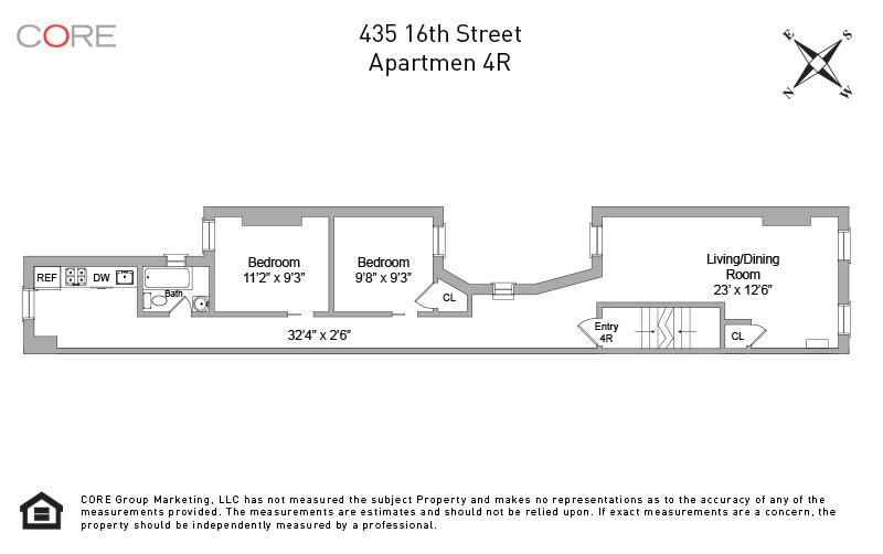 435 16th St. 4R, Brooklyn, NY 11215