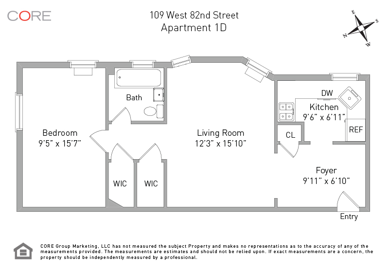 109 West 82nd St. 1D, New York, NY 10024