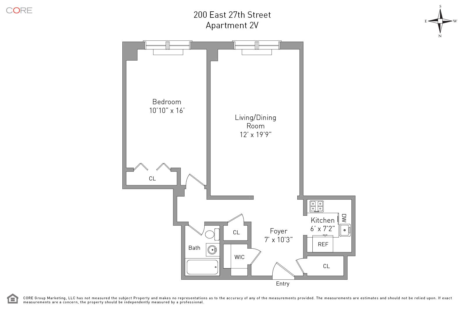 200 East 27th St. 2V, New York, NY 10016