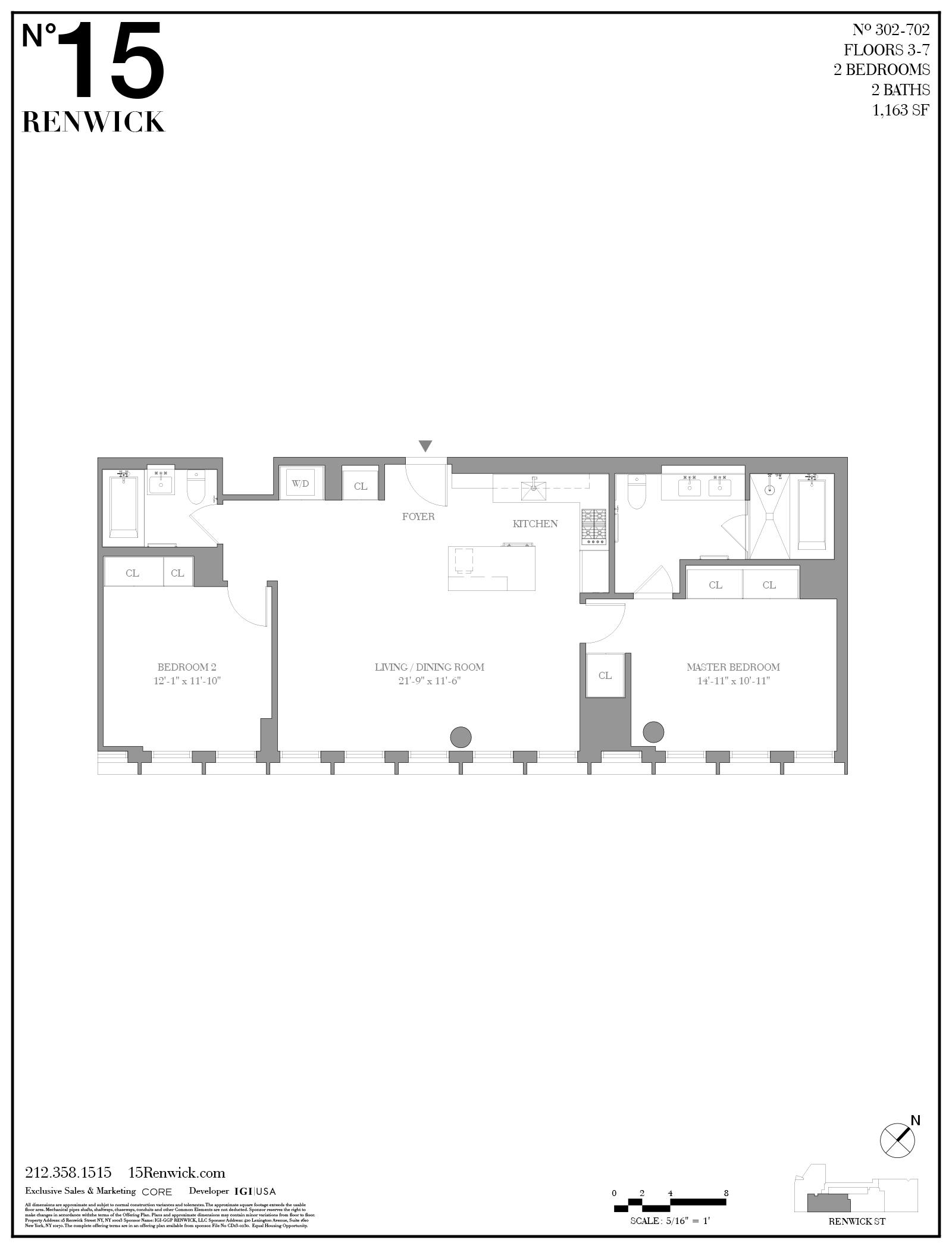 15 Renwick St. 502, New York, NY 10013