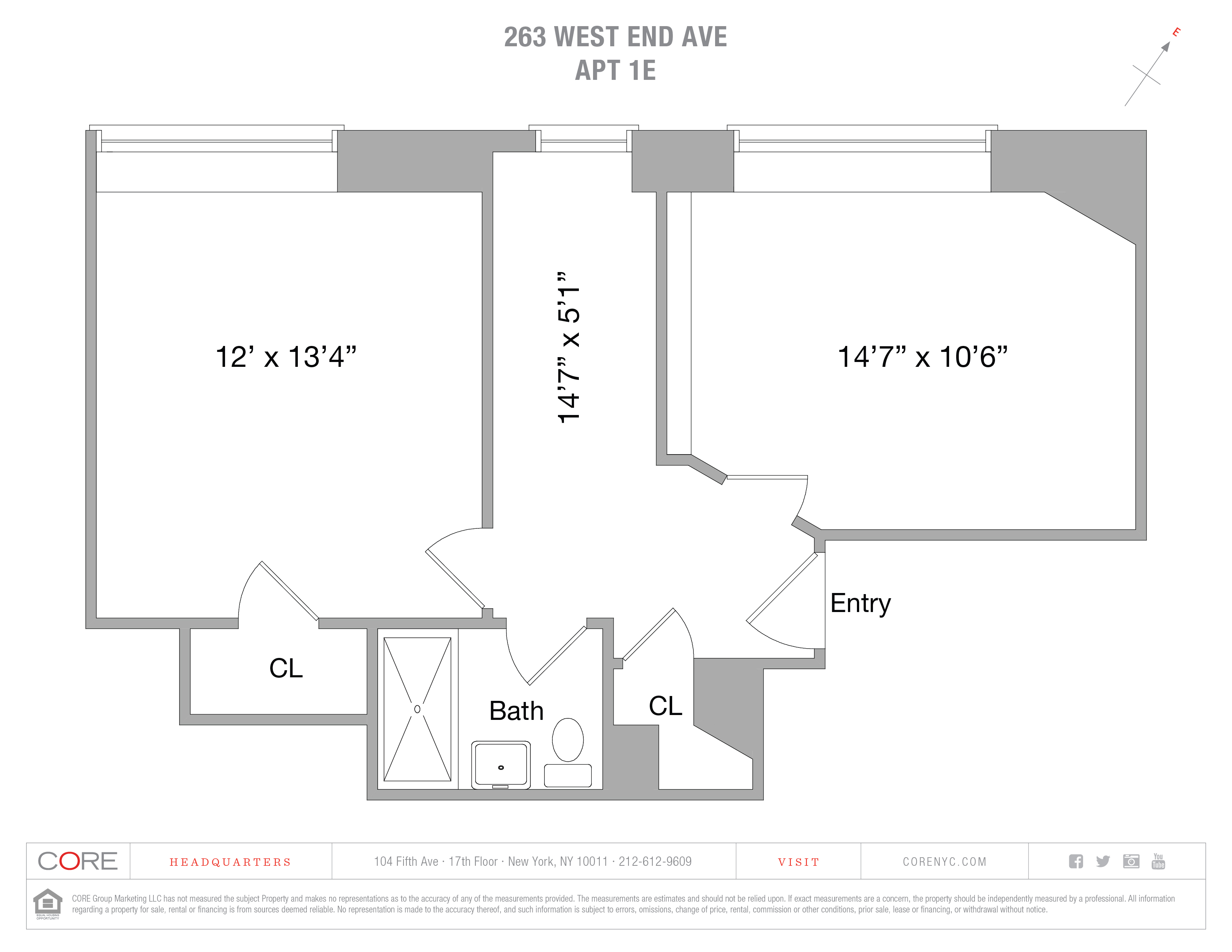 263 West End Ave. 1e, New York, NY 10023