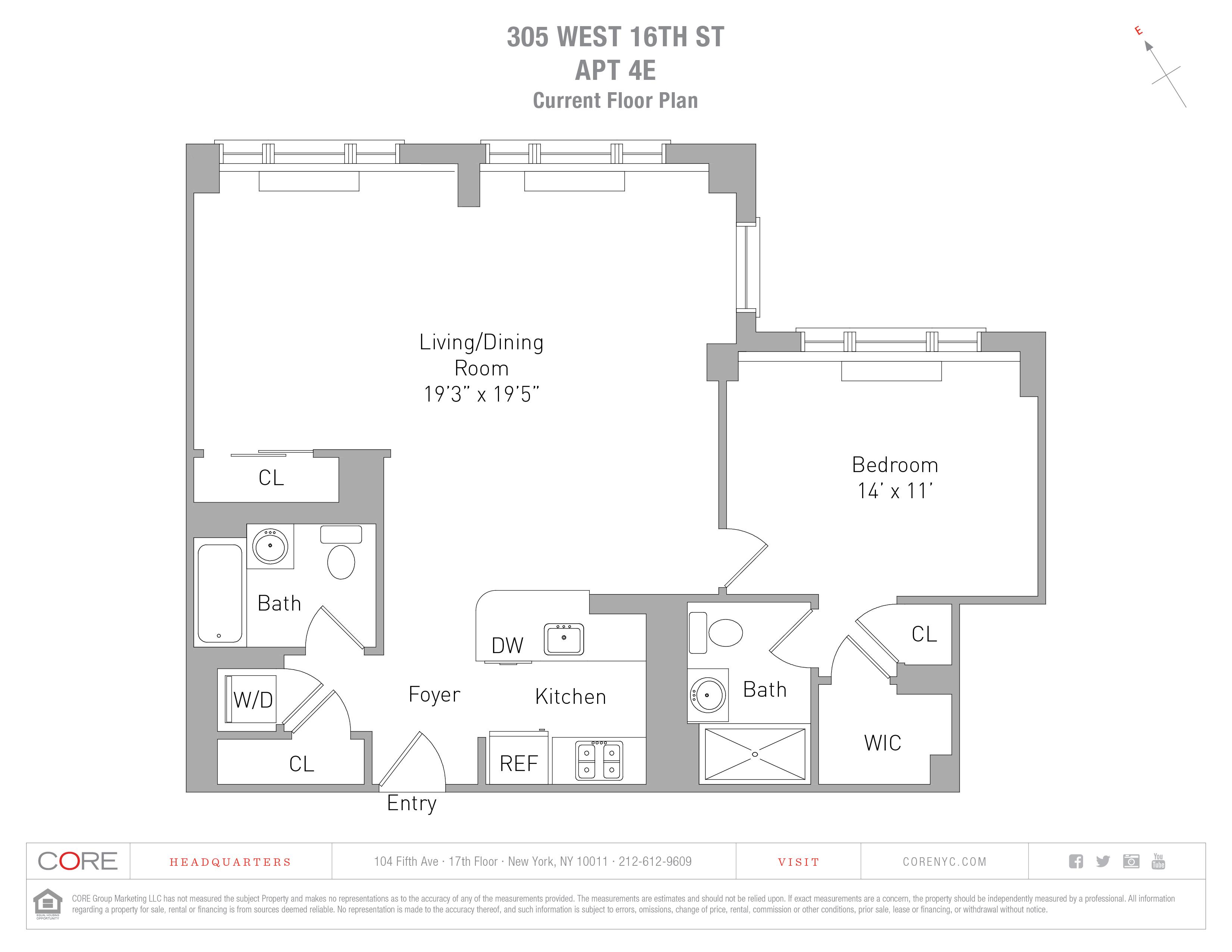 305 West 16th St. 4E, New York, NY 10011