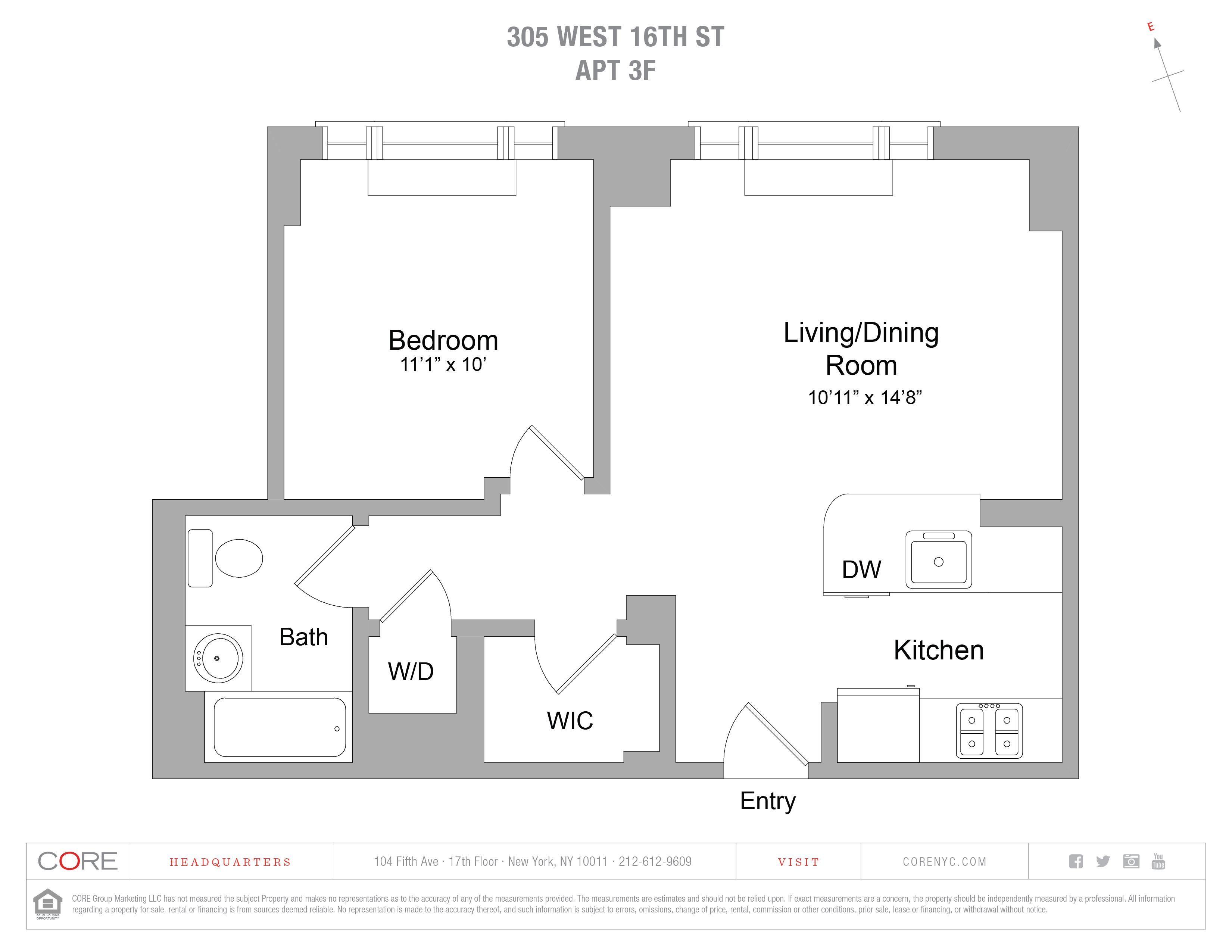 305 West 16th St. 3F, New York, NY 10011