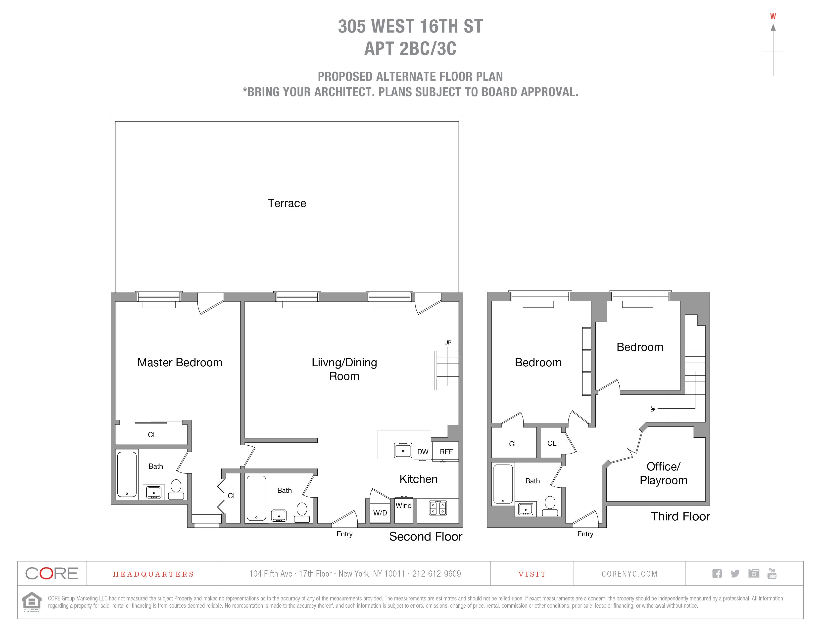 305 West 16th St. 2BC/3C, New York, NY 10011