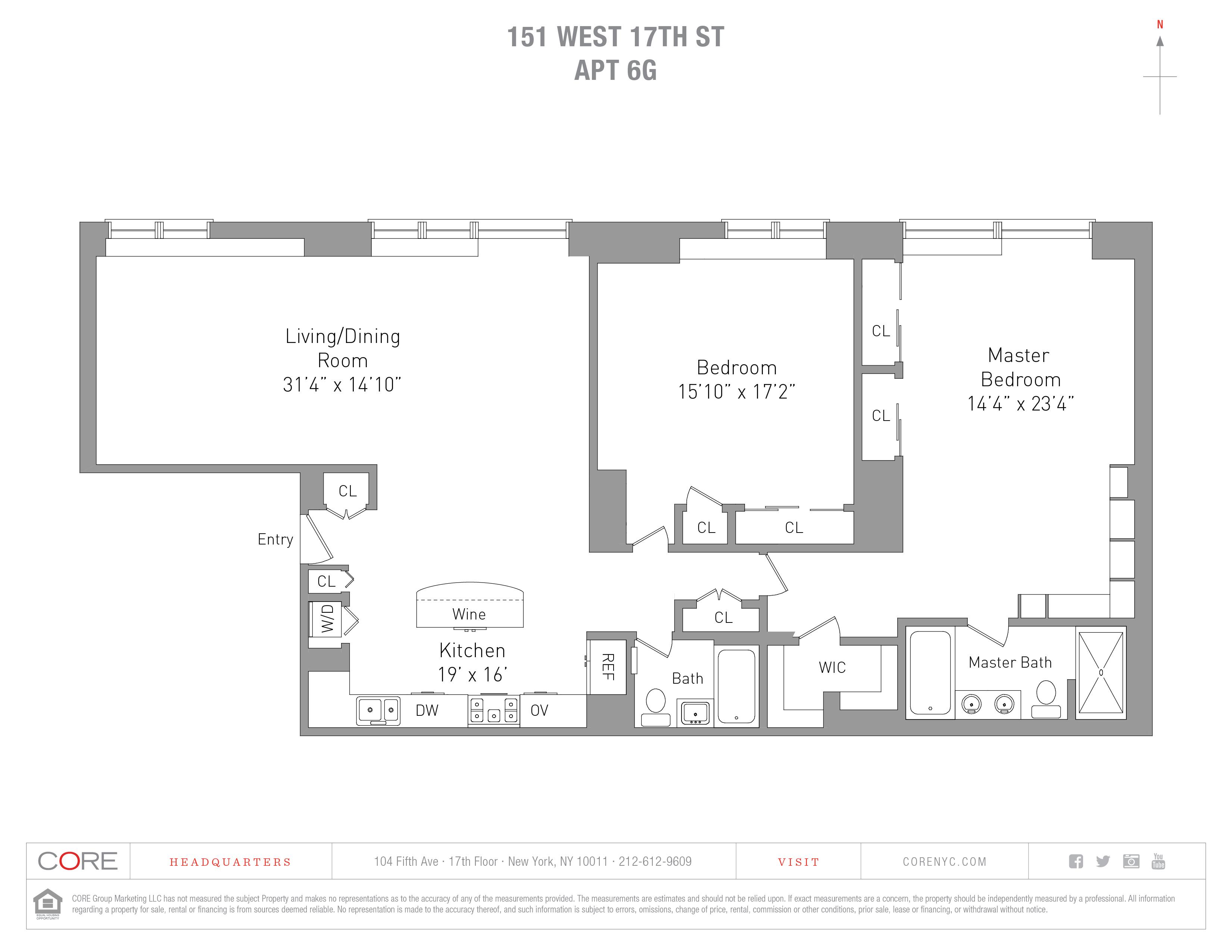 151 West 17th St. 6G, New York, NY 10011