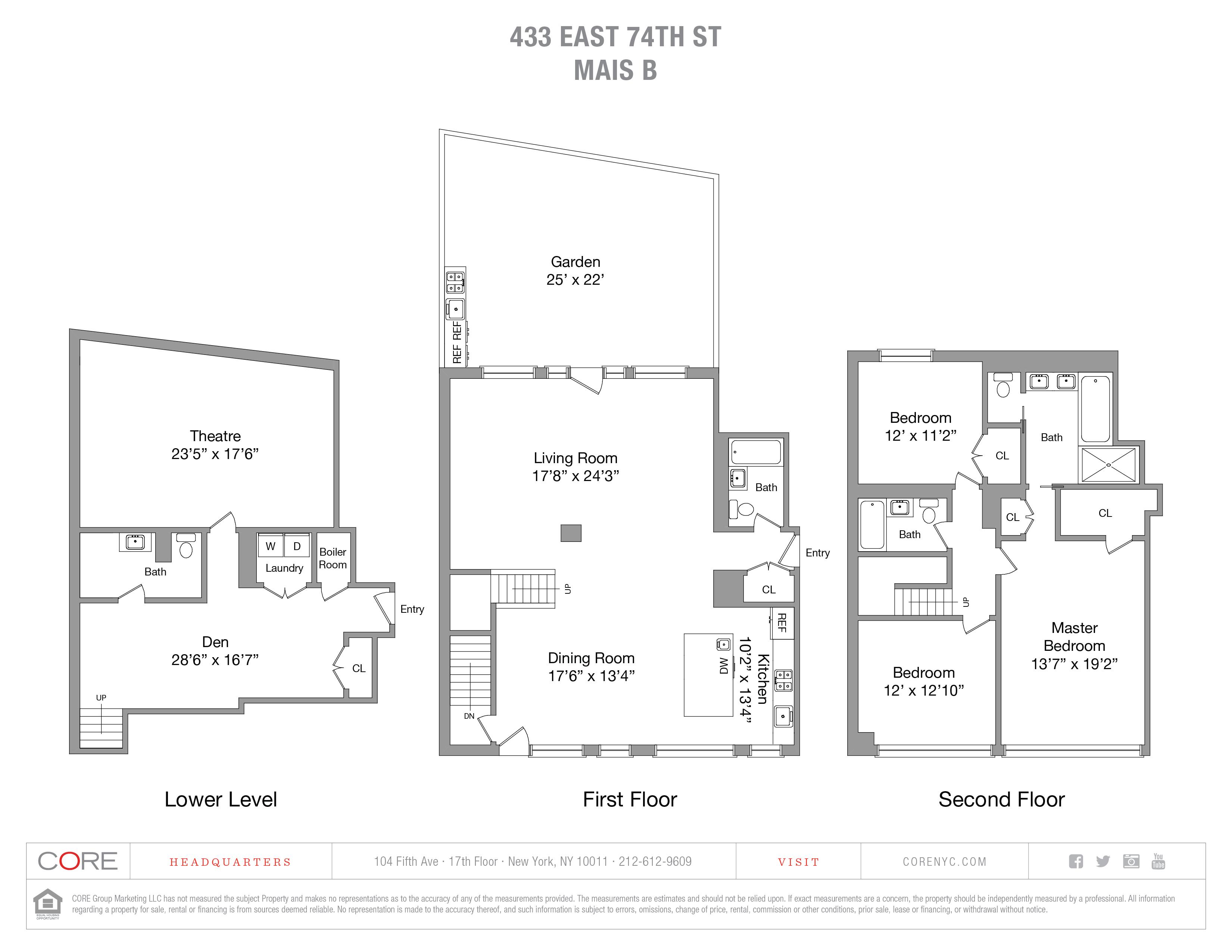 433 East 74th St. MaisB, New York, NY 10021