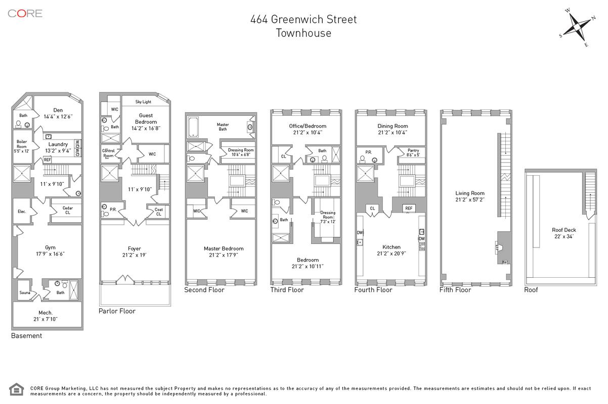 464 Greenwich St., New York, NY 10013
