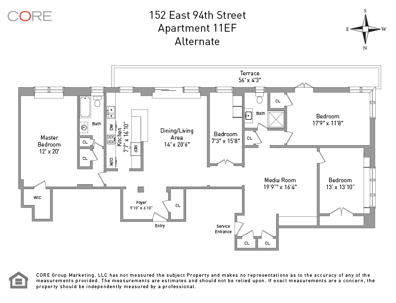 152 East 94th St. 11EF, New York, NY 10128