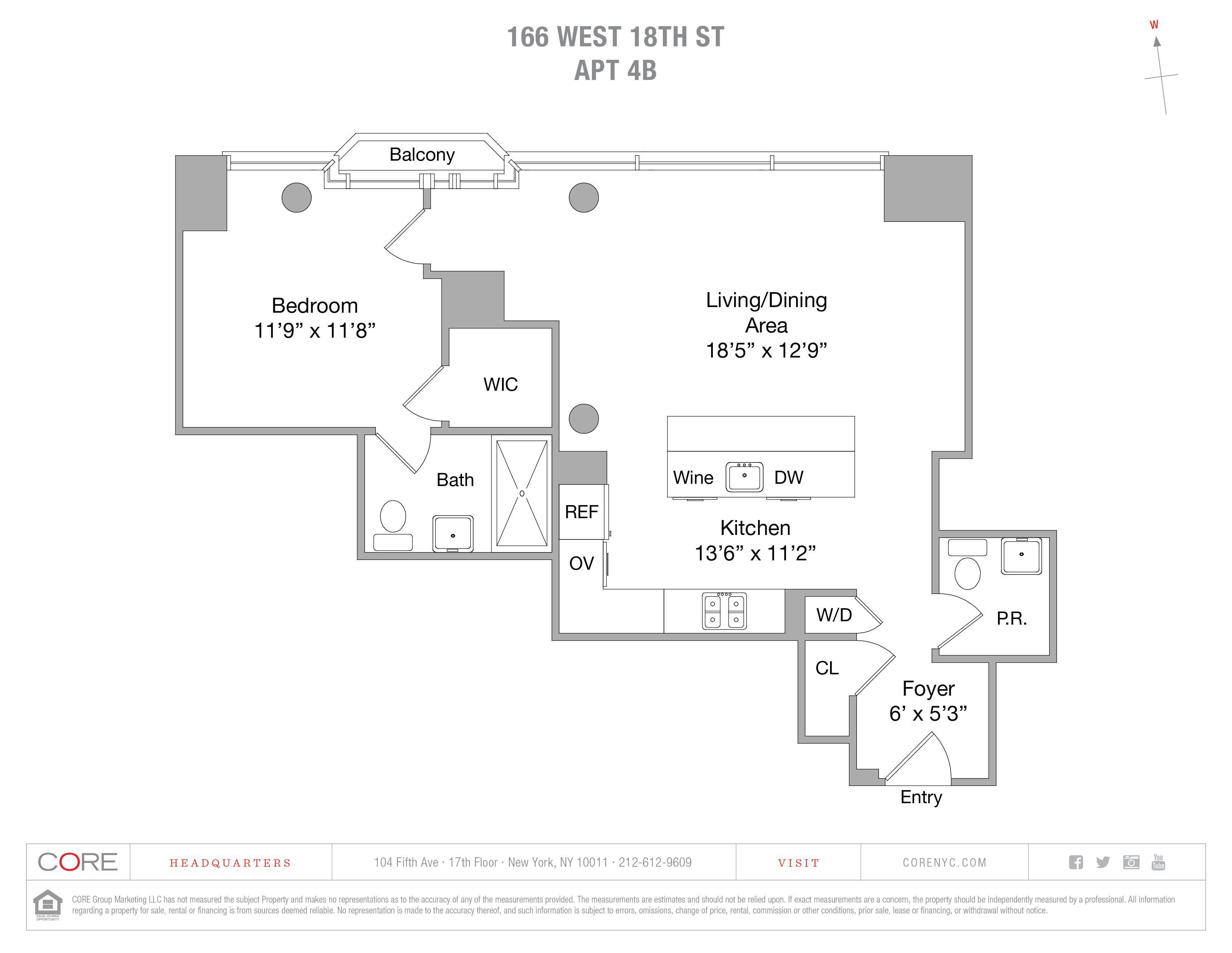 166 West 18th St. 4B, New York, NY 10011