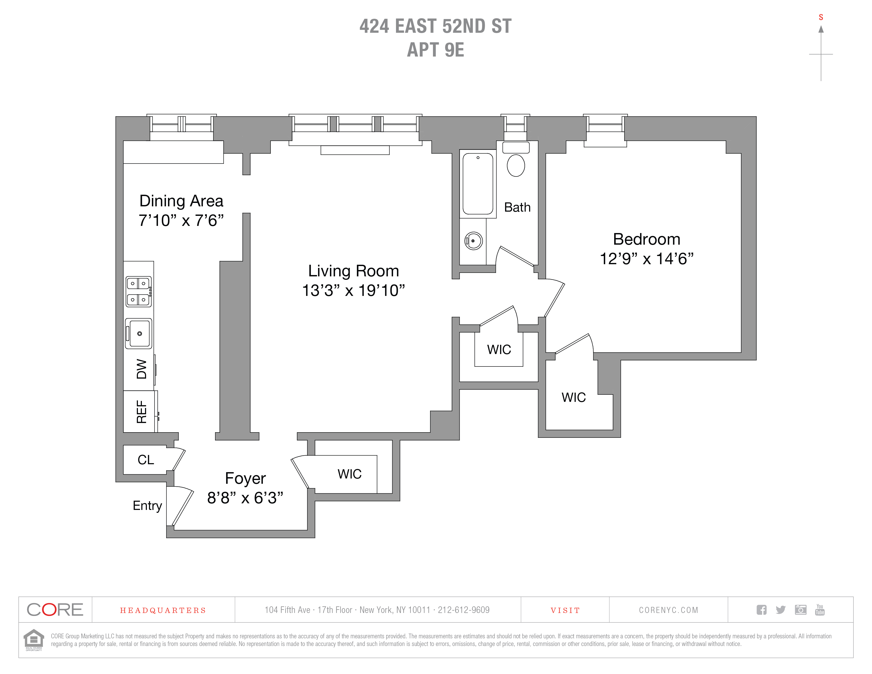 424 East 52nd St. 9East, New York, NY 10022