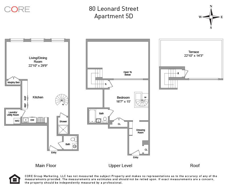 80 Leonard St. 5D, New York, NY 10013