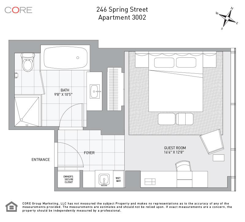 246 Spring St. 3002, New York, NY 10013