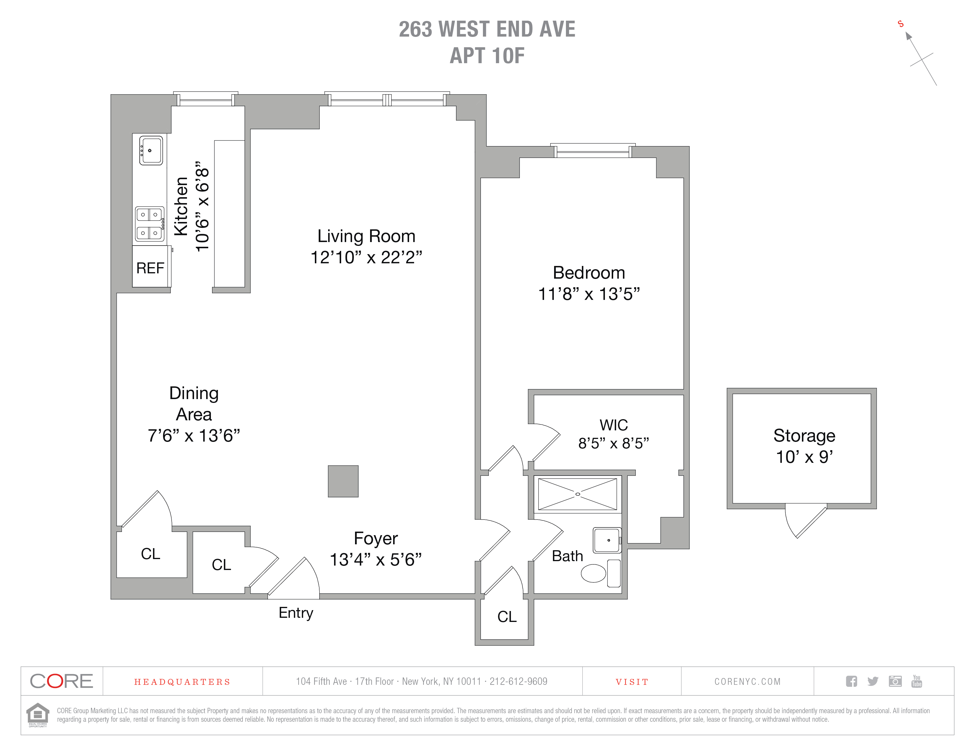 263 West End Ave. 10f, New York, NY 10023