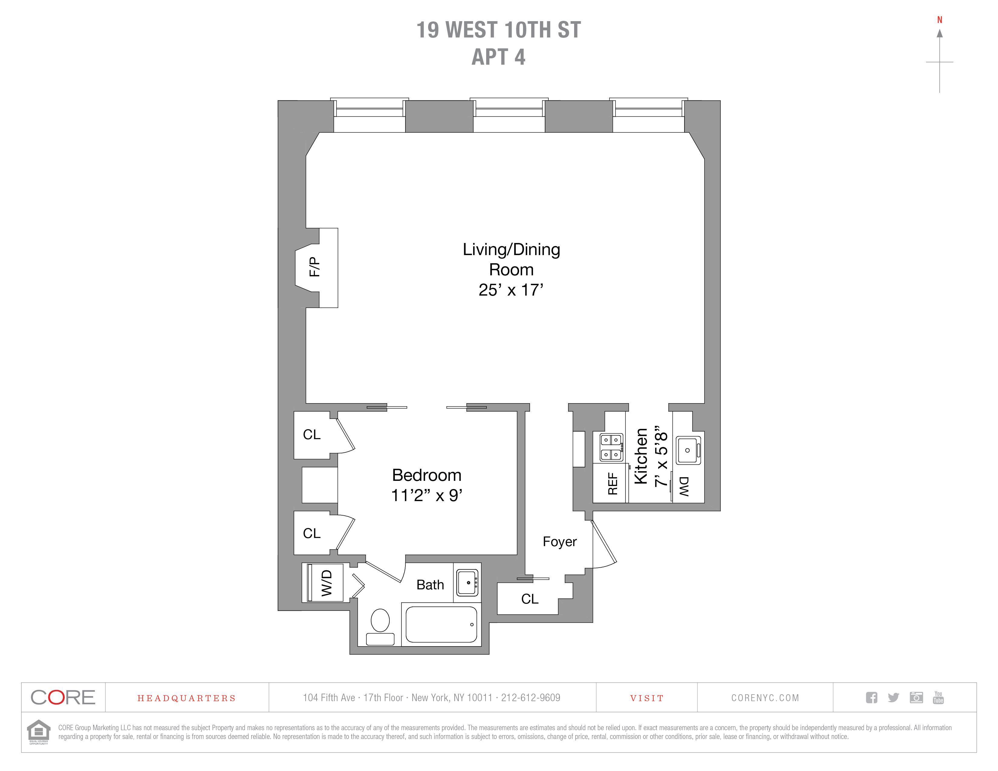 19 West 10th St. 4, New York, NY 10011