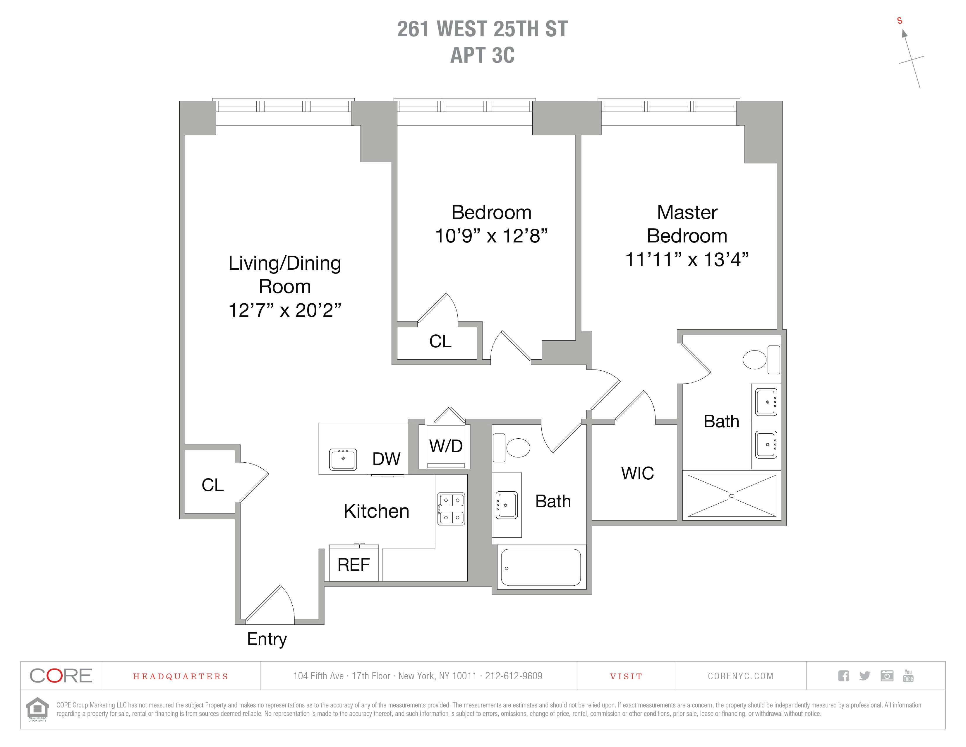 261 West 25th St. 3C, New York, NY 10001