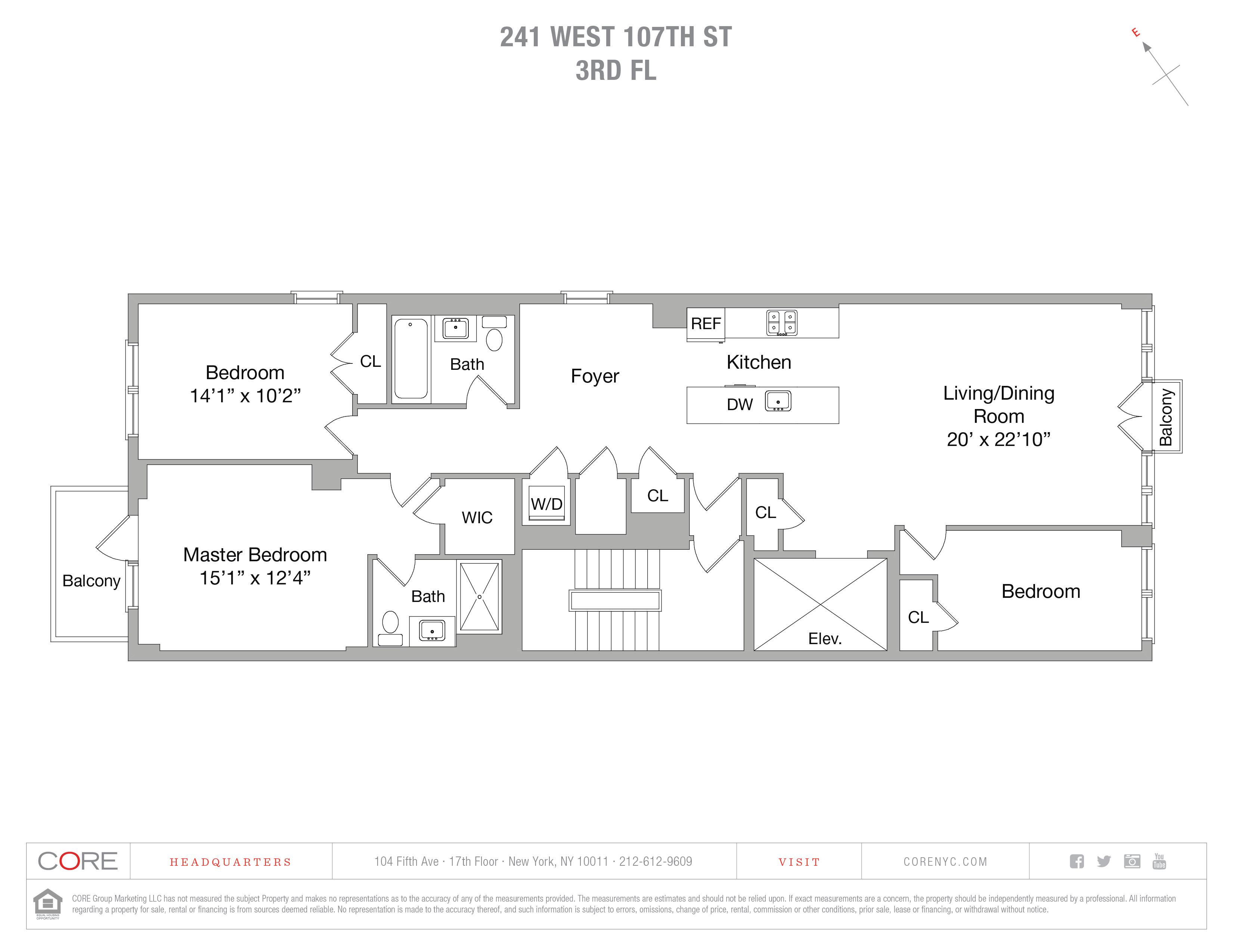 241 West 107th St. 3RDFLOOR, New York, NY 10025