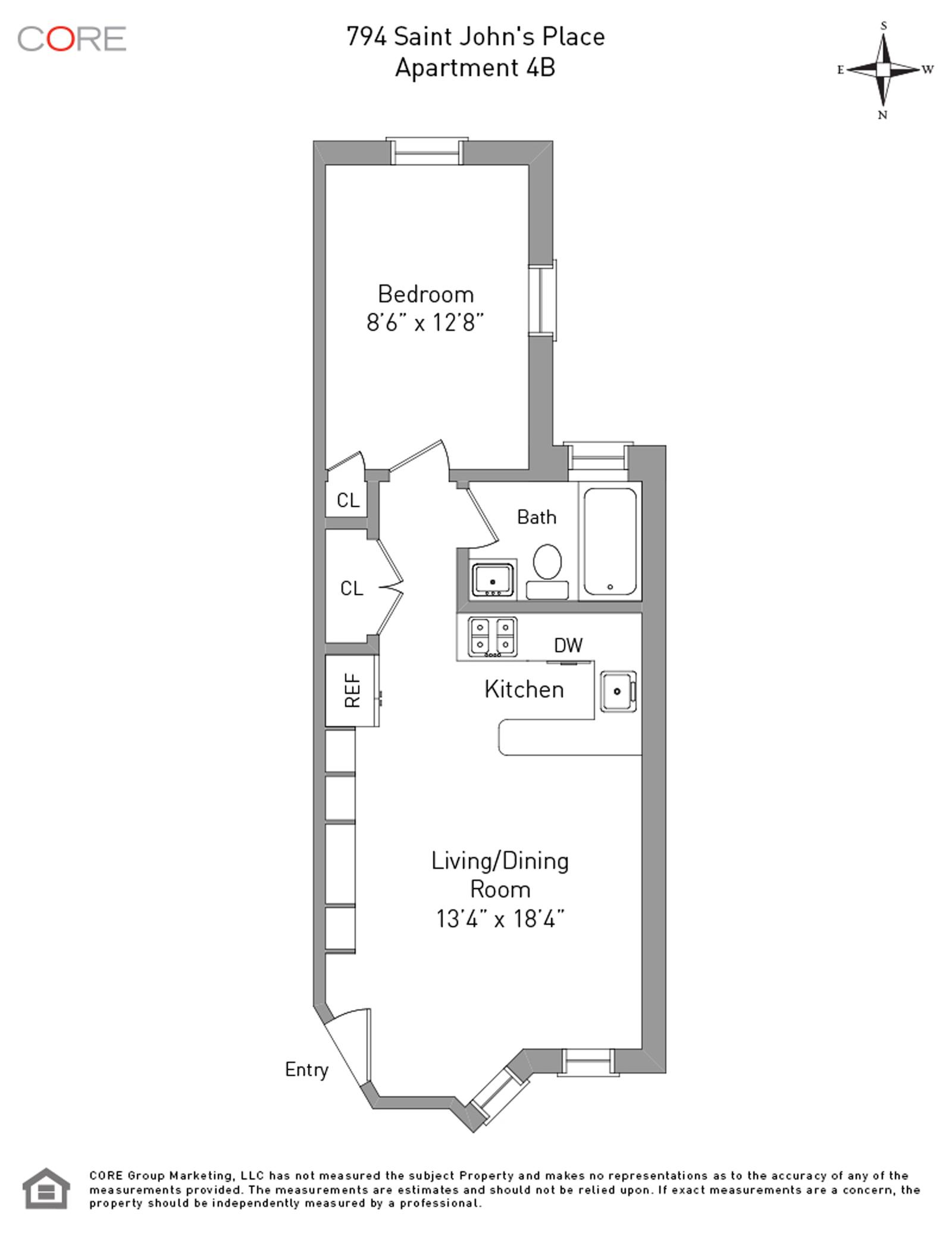 794 Saint Johns Place 4B, Brooklyn, NY 11216