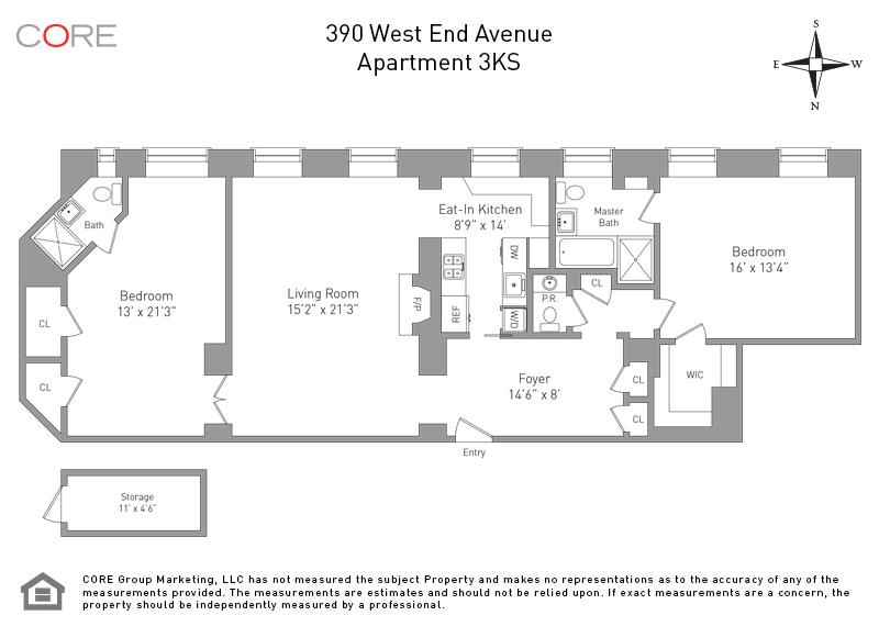 390 West End Ave. 3KS, New York, NY 10024