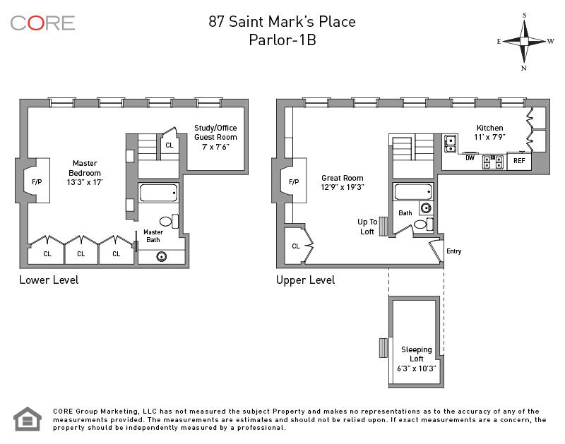 87 Saint Marks Place PARLOR1B, New York, NY 10009