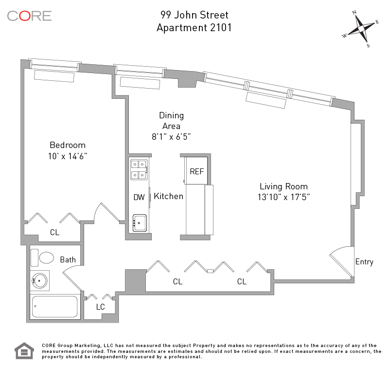 99 John St. 2101, New York, NY 10038