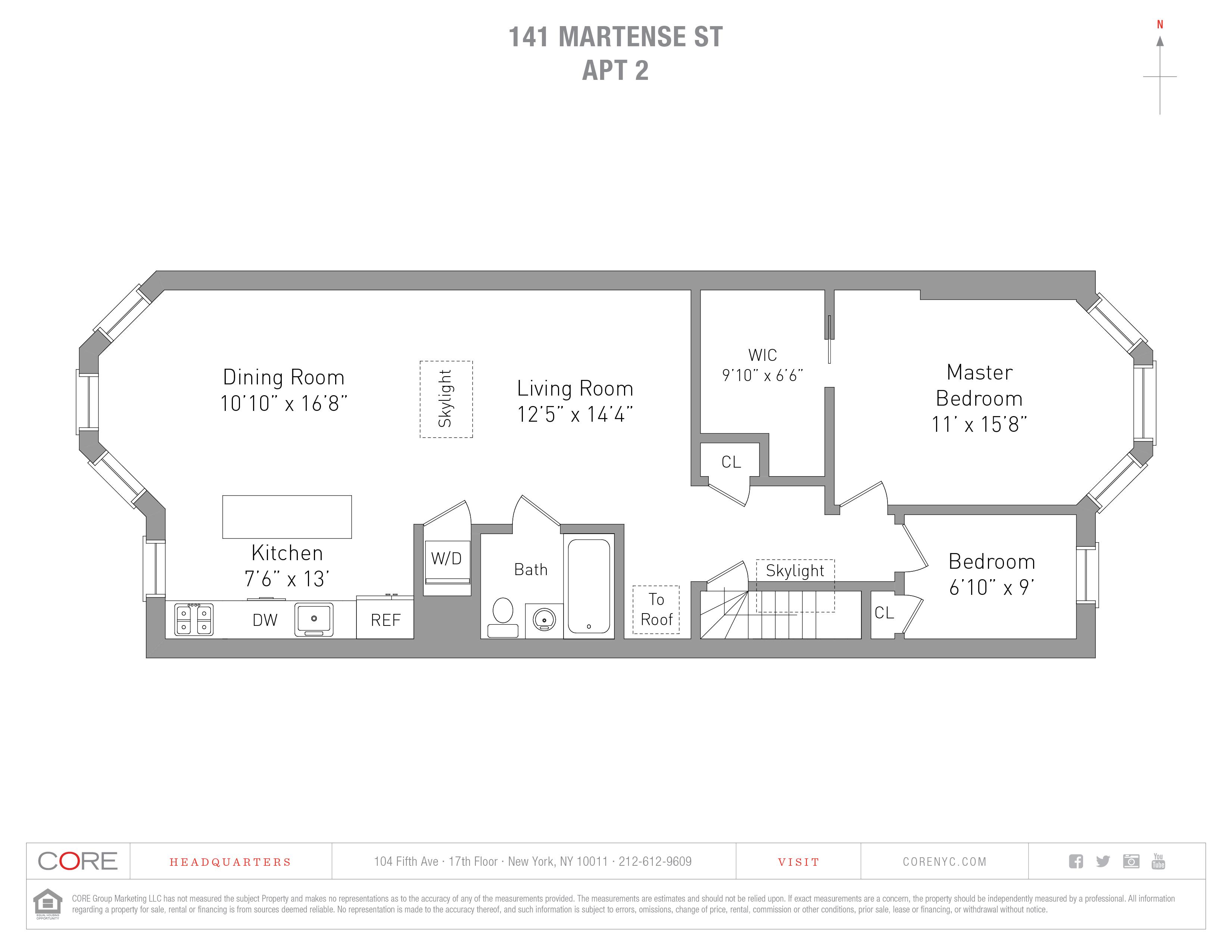 141 Martense St. 2, Brooklyn, NY 11226