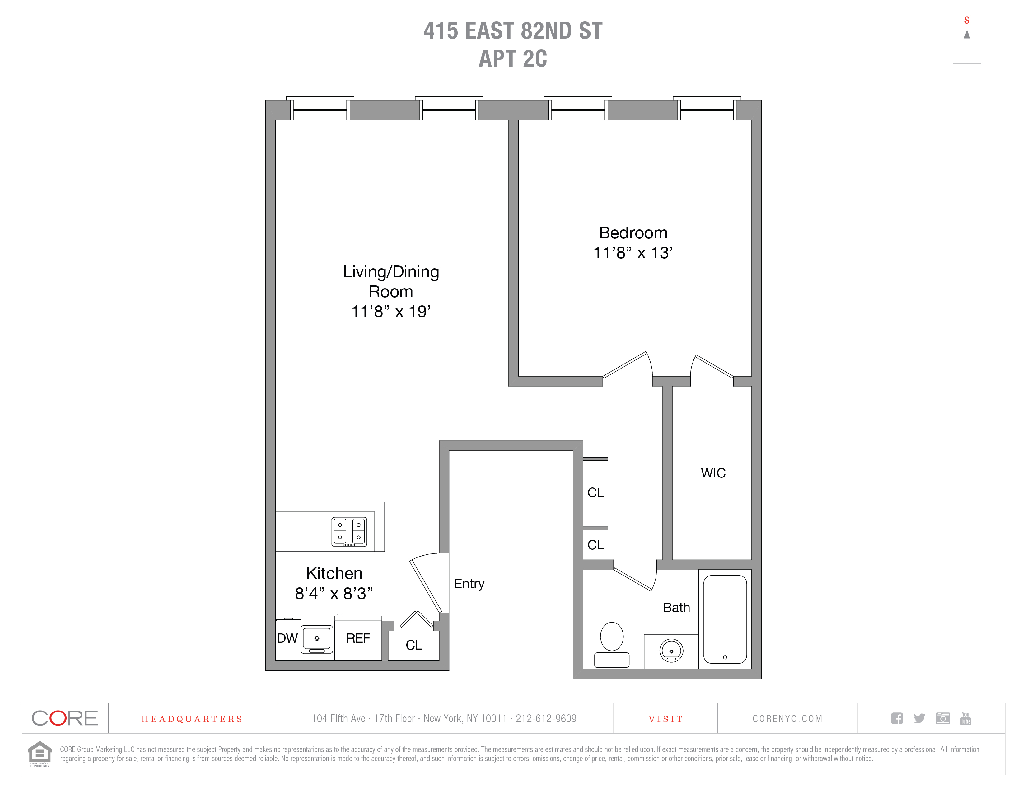 415 East 82nd St. 2C, New York, NY 10028