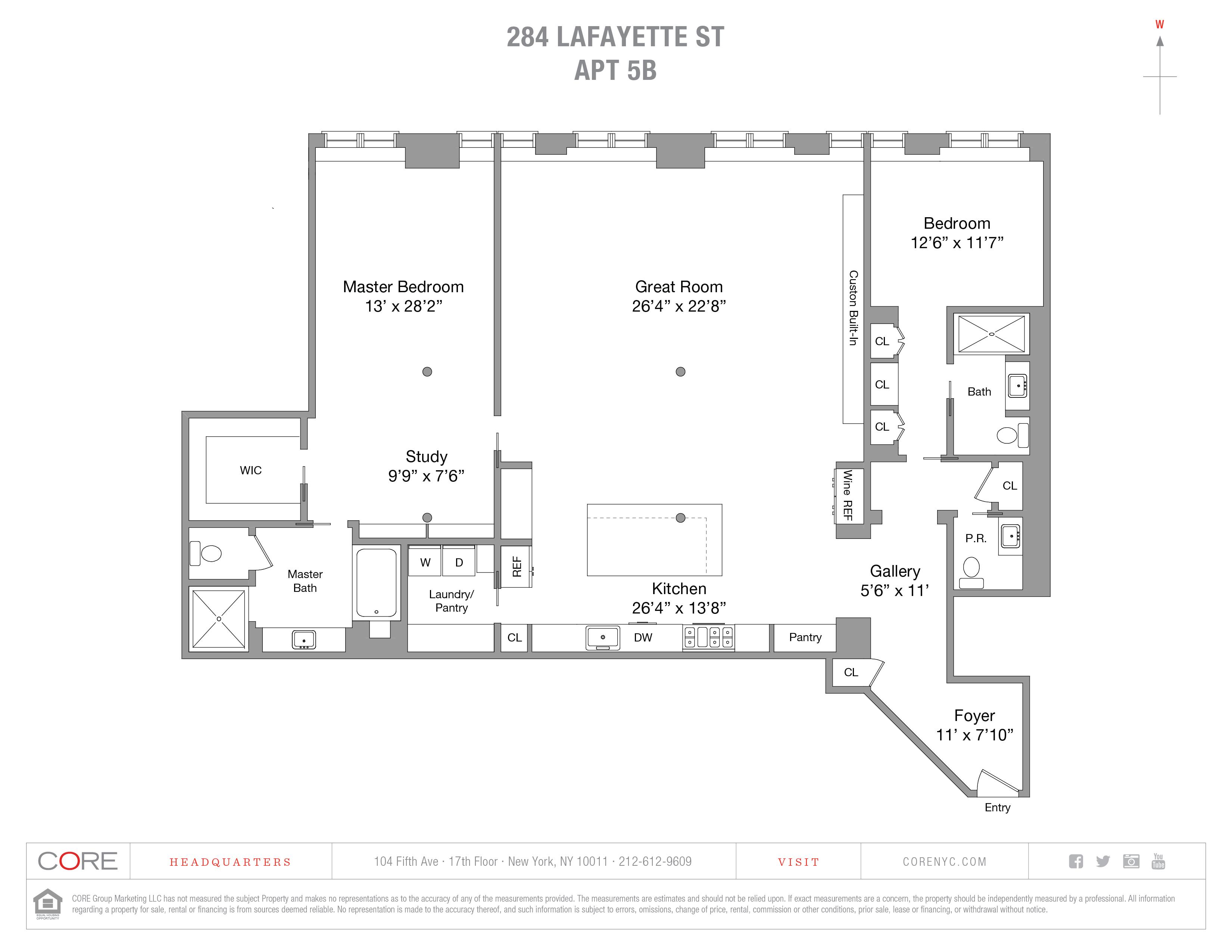 284 Lafayette St. 5BB, New York, NY 10012