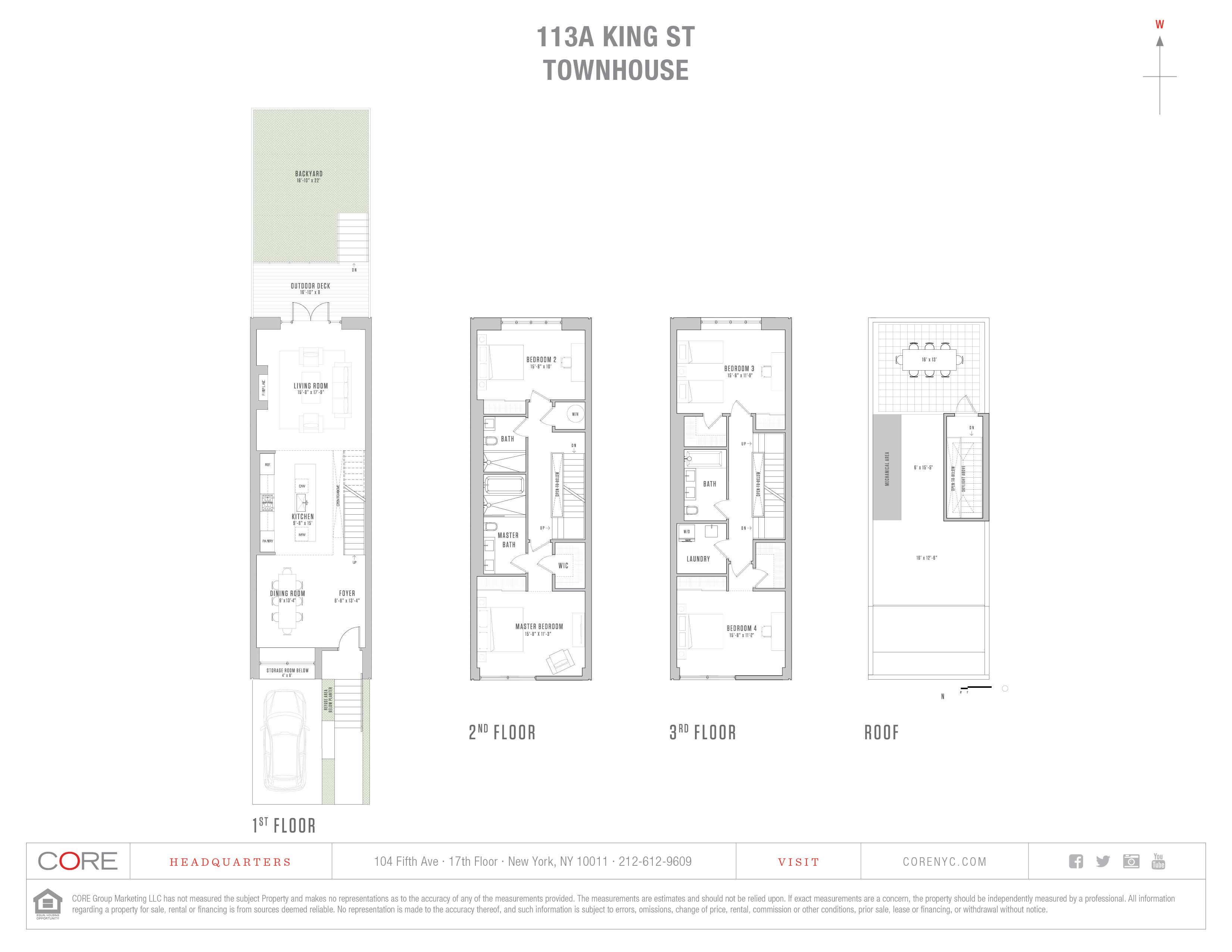 113a King St TOWNHOUSE, Brooklyn, NY 11231