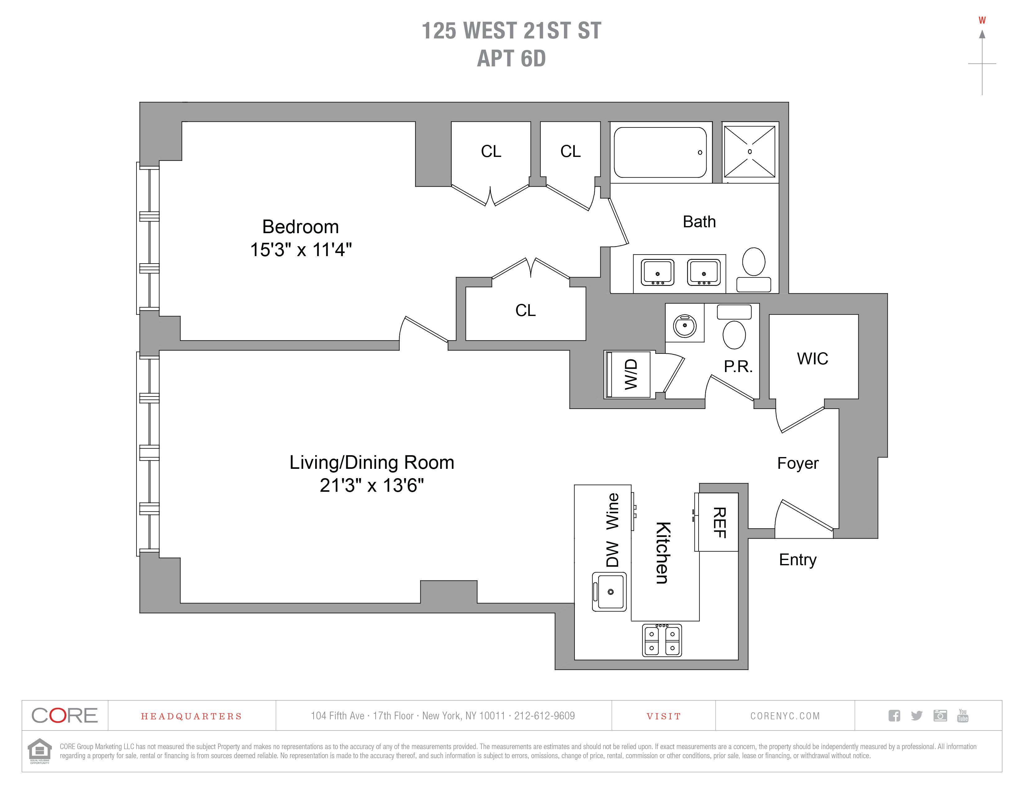 125 West 21st St. 6D, New York, NY 10011