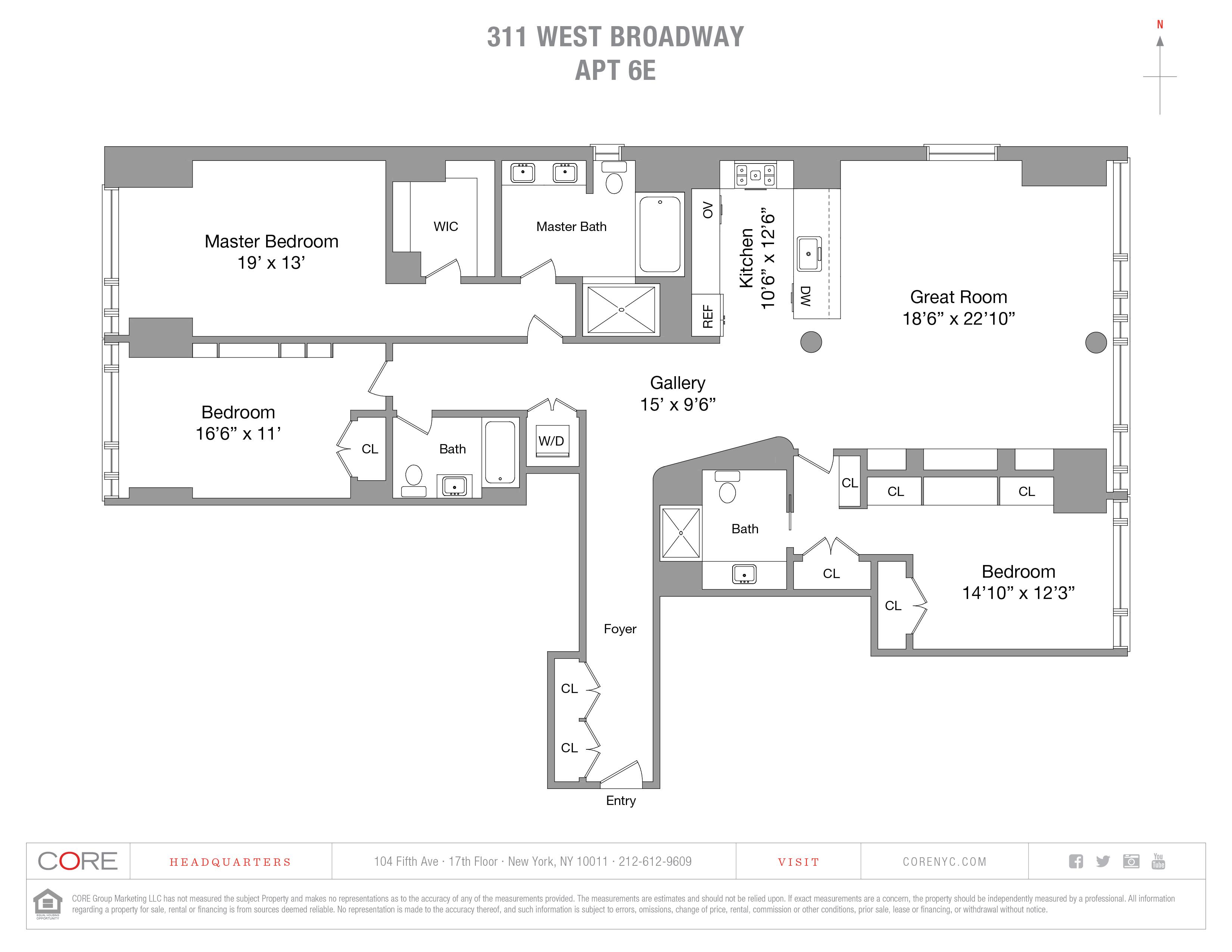 311 West Broadway 6E, New York, NY 10013