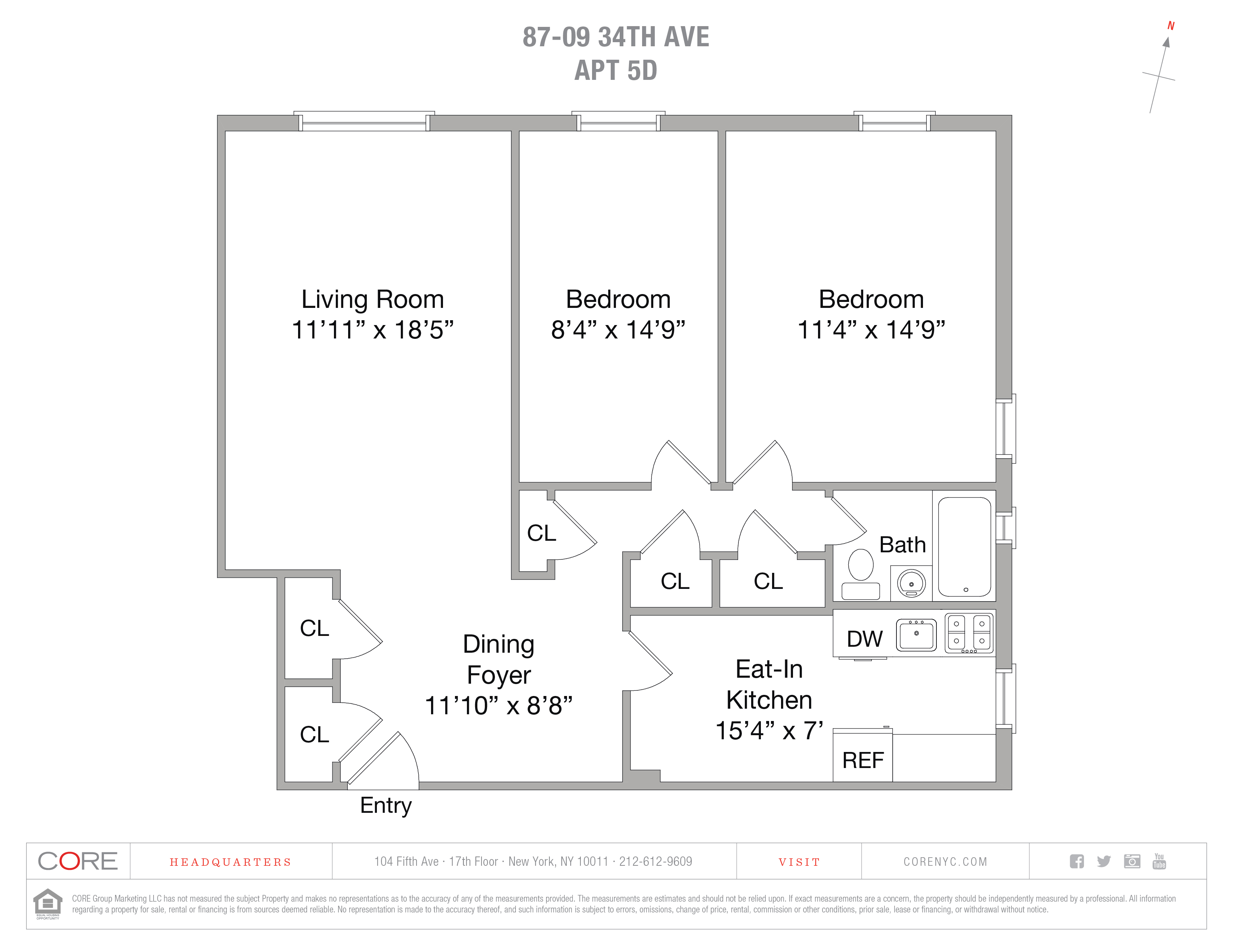 87-09 34 Ave. 5D, Queens, NY 11372