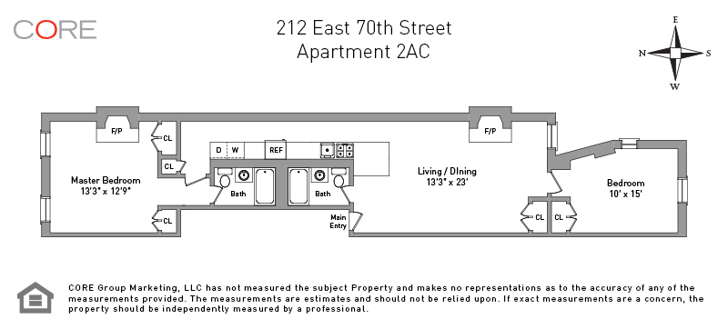 212 East 70th St. 2AC, New York, NY 10021