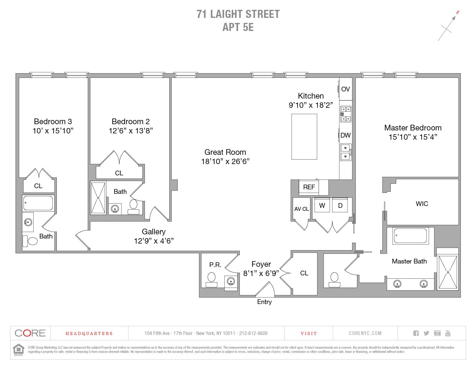 71 Laight St. 5E, New York, NY 10013