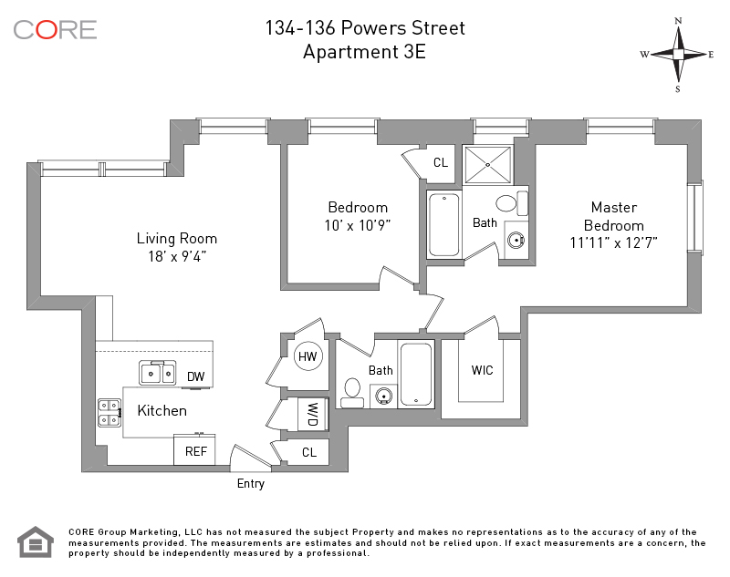 134 Powers St 3E, Brooklyn, NY 11211