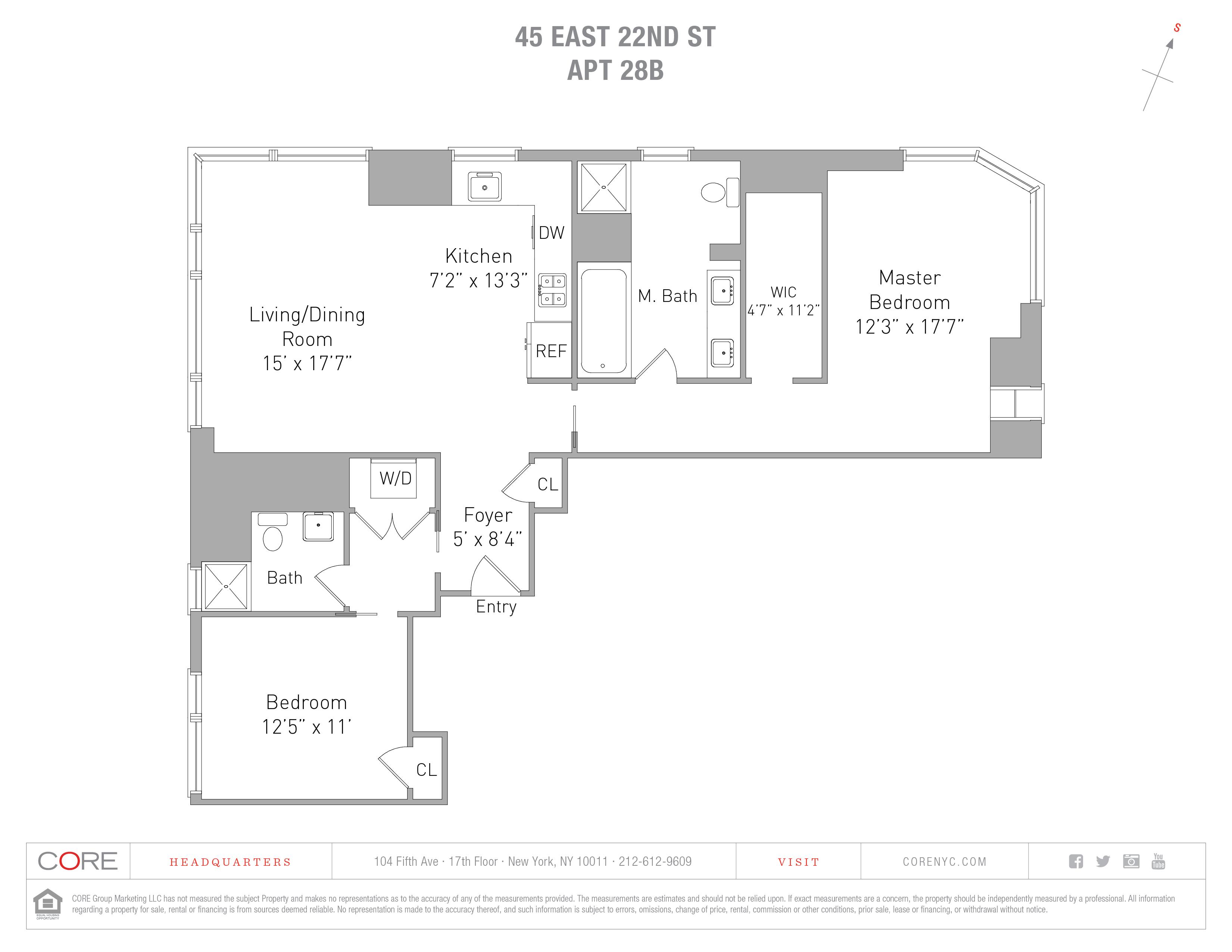 45 East 22nd St. 28B, New York, NY 10010