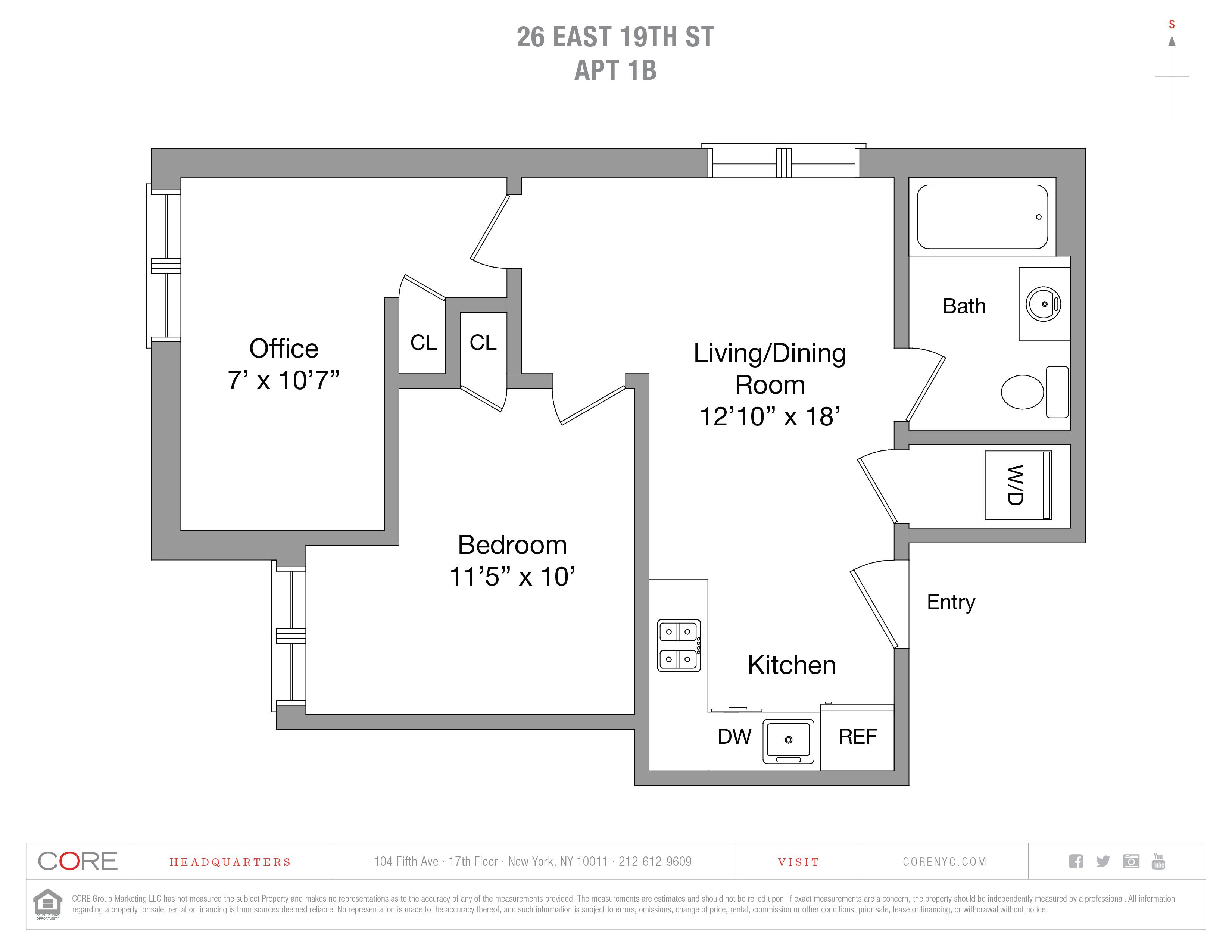 26 East 19th St. 1B, Brooklyn, NY 11226