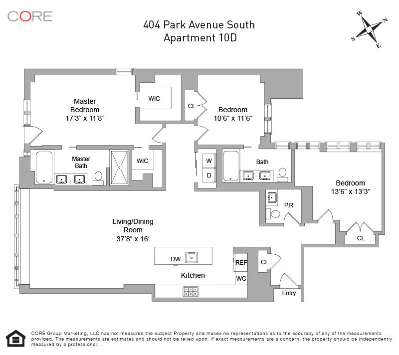 404 Park Ave 10D, New York, NY 10016