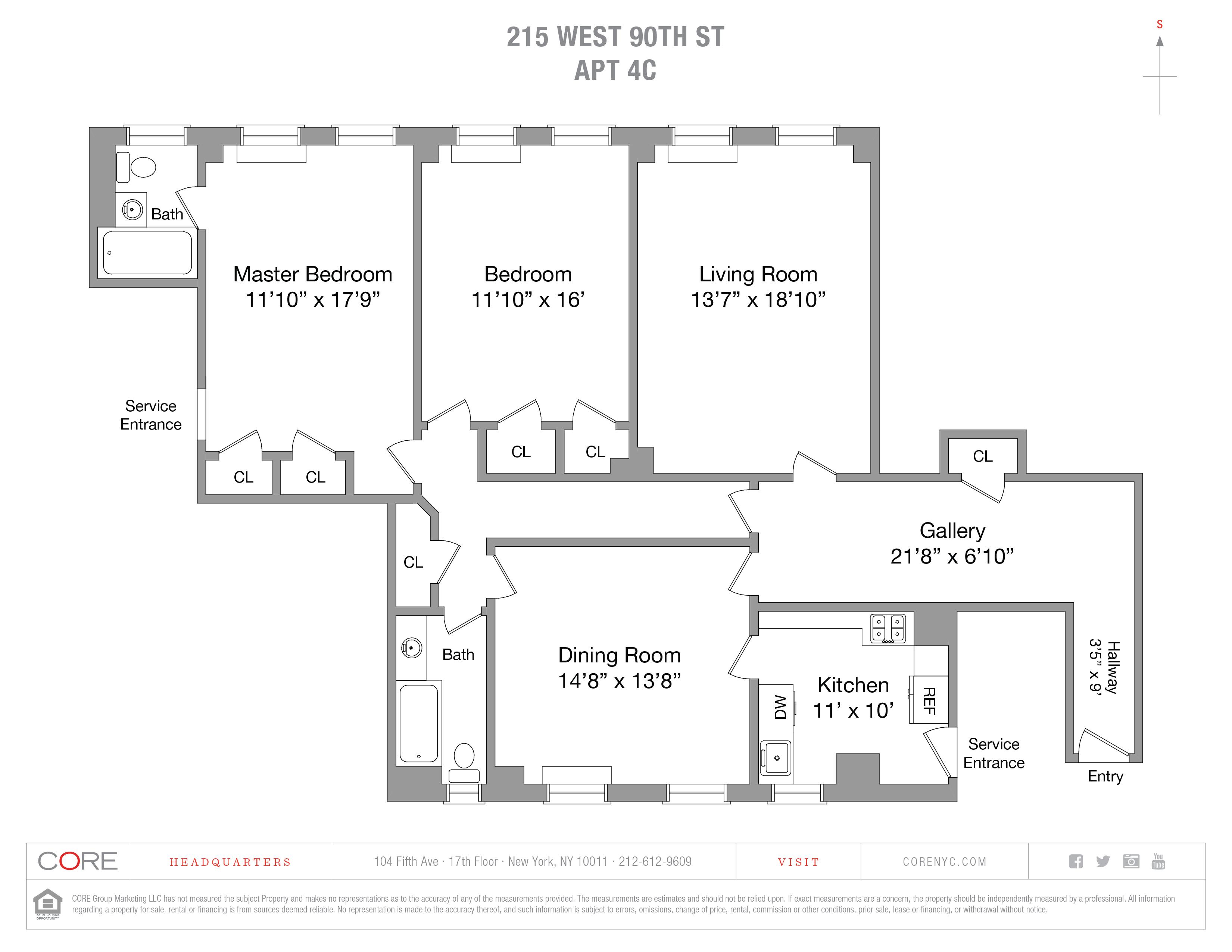 215 West 90th St. 4c, New York, NY 10024