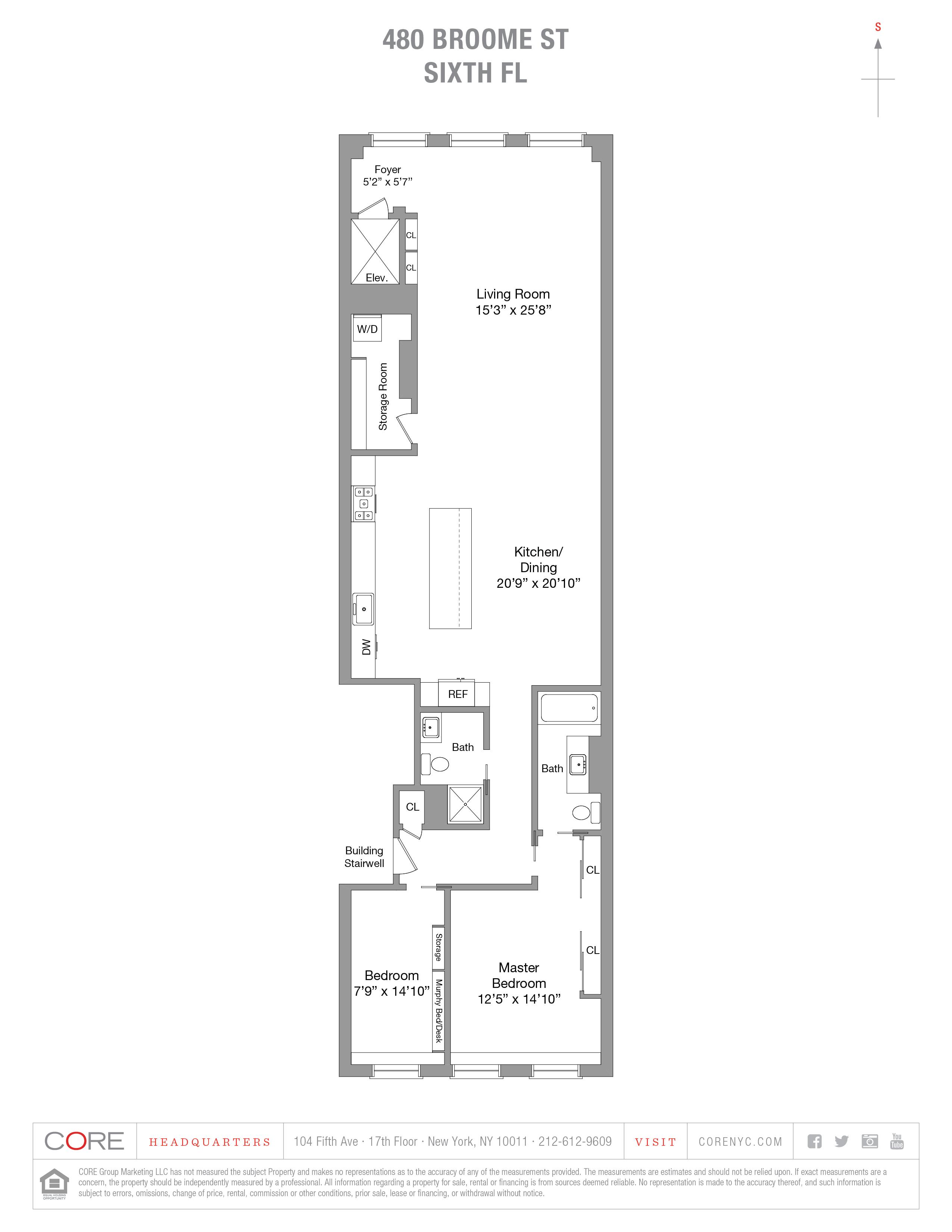 480 Broome St. 6th floor , New York, NY 10013