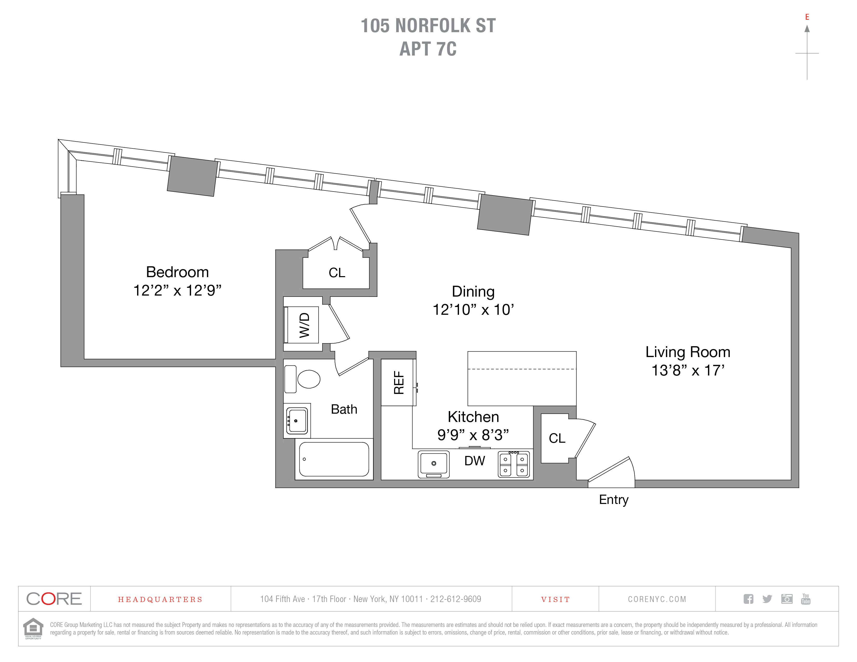 105 Norfolk St. 7C, New York, NY 10002