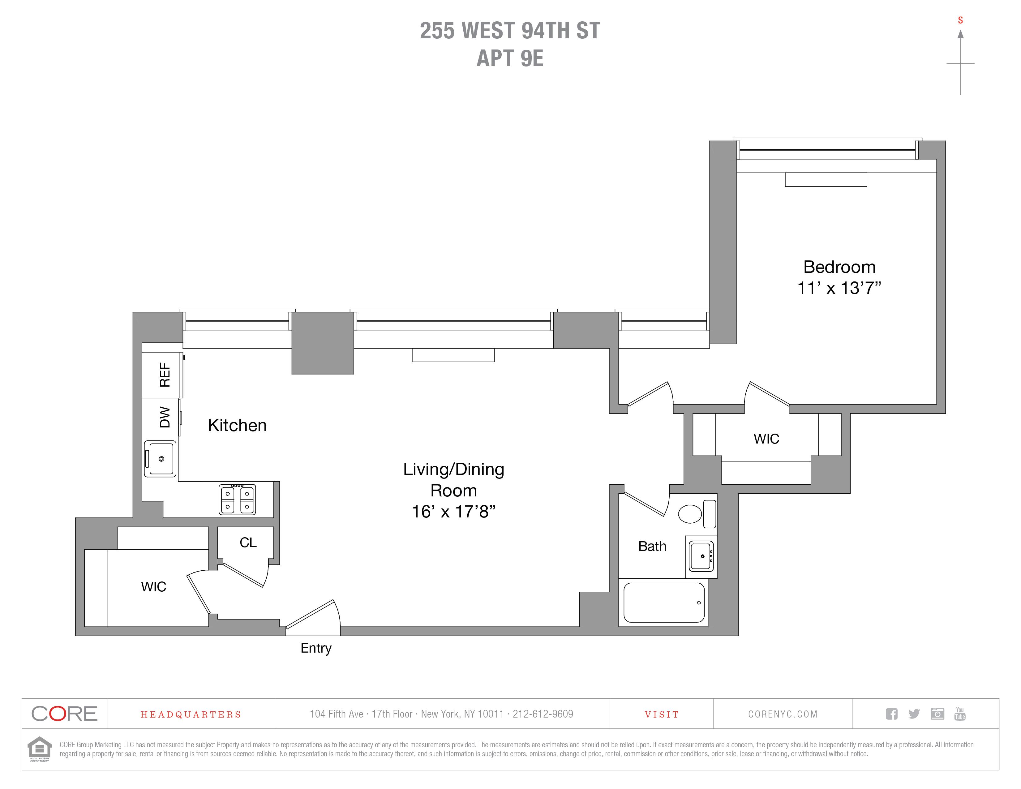 255 West 94th St. 9E, New York, NY 10025