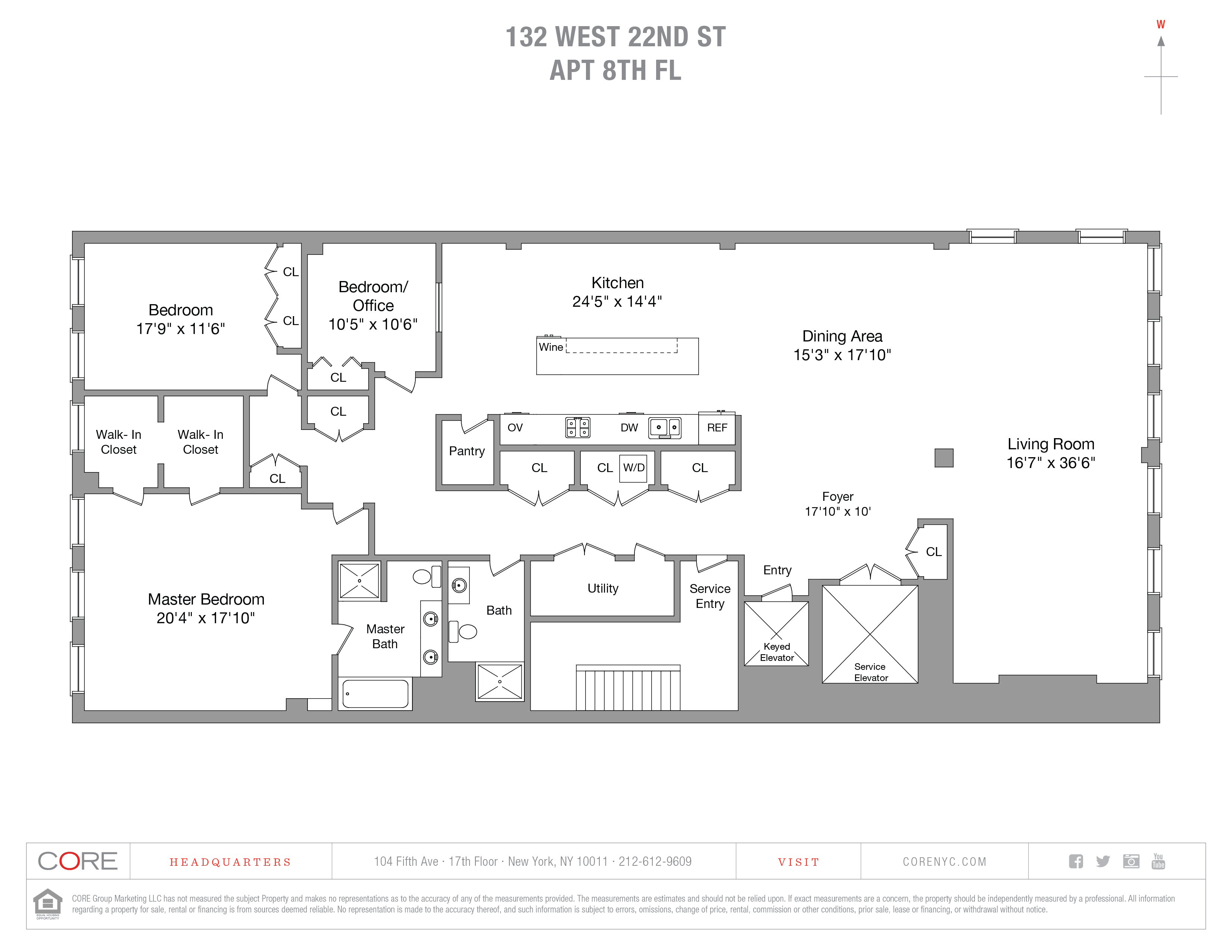 132 West 22nd St. 8, New York, NY 10011