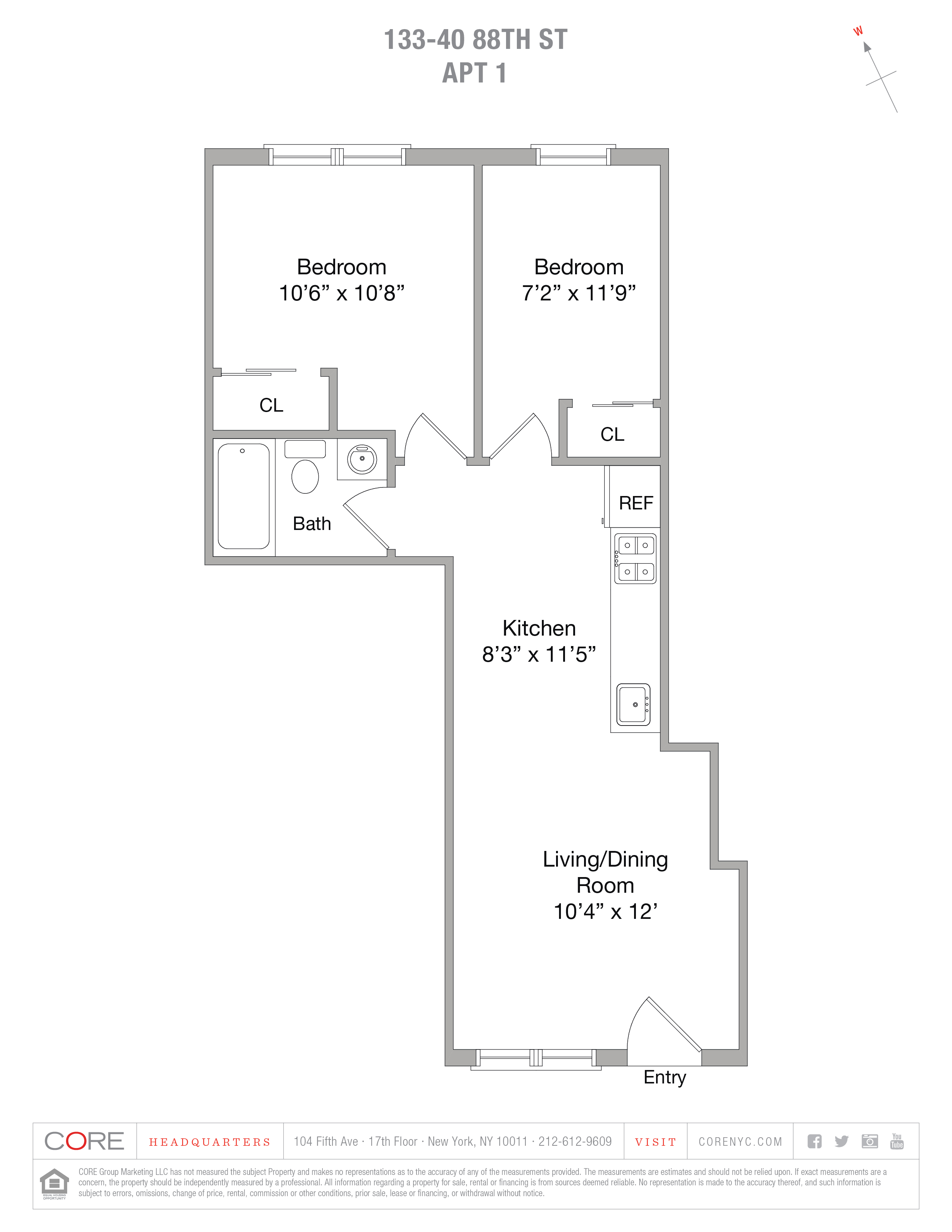 133-40 88 St. #1, Queens, NY 11417