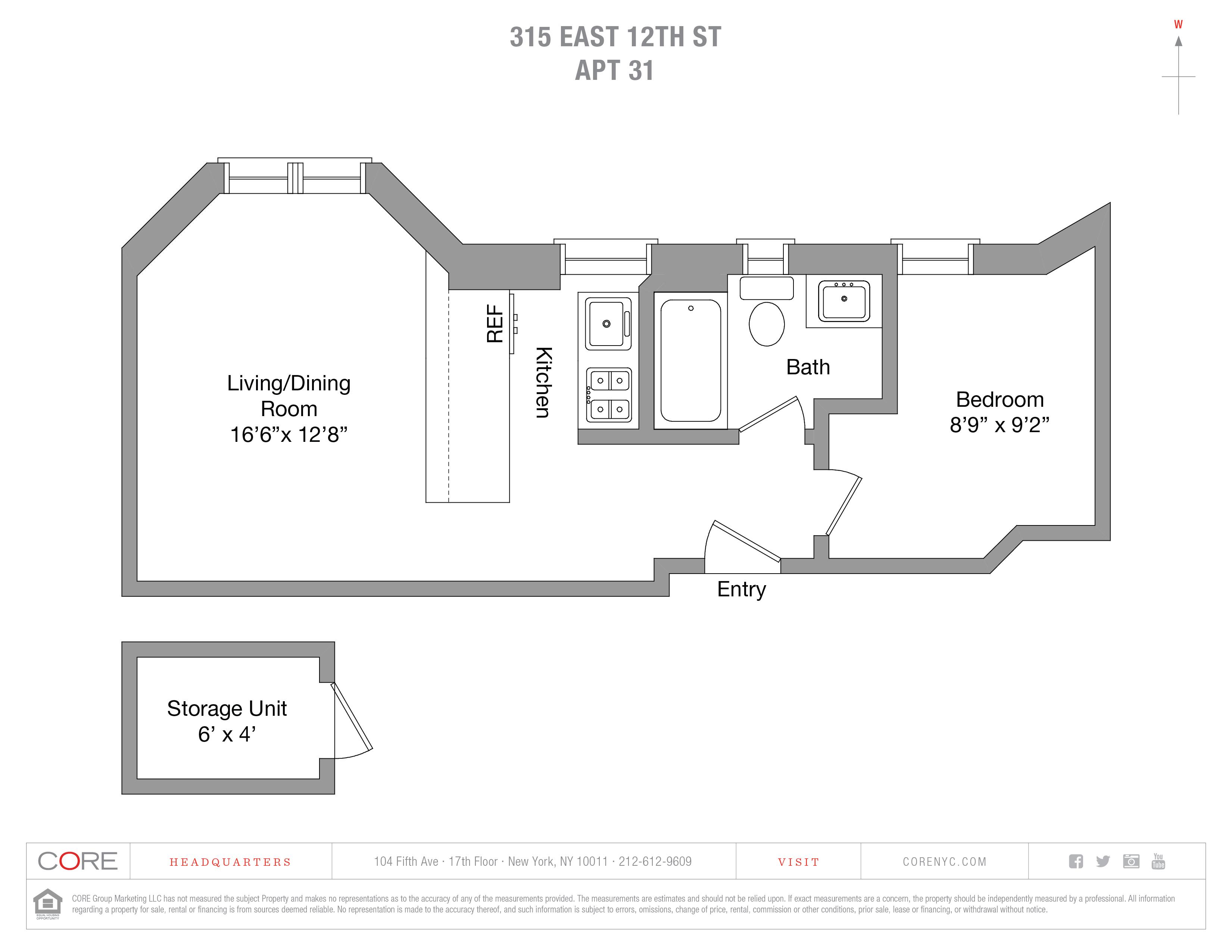 315 East 12th St. 31, New York, NY 10003