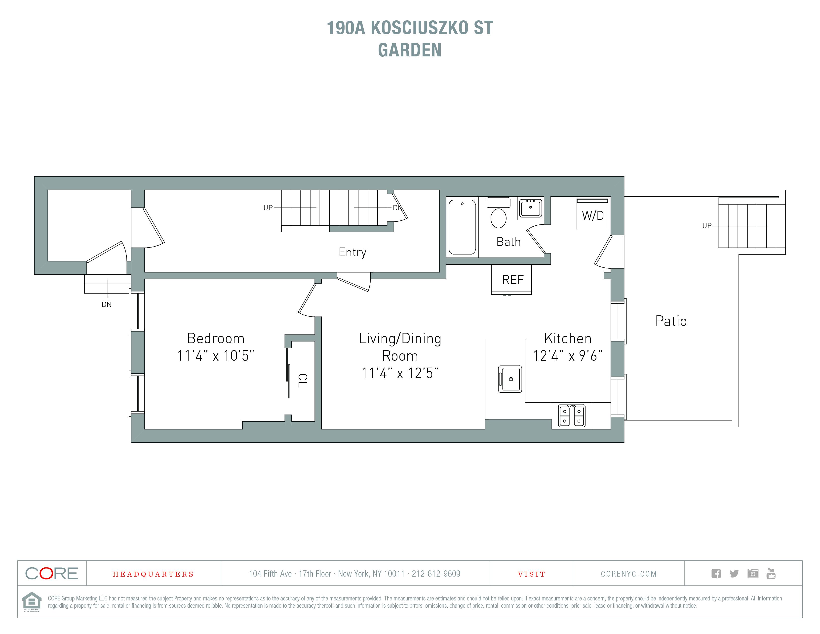 190a Kosciuszko St. 1, Brooklyn, NY 11216