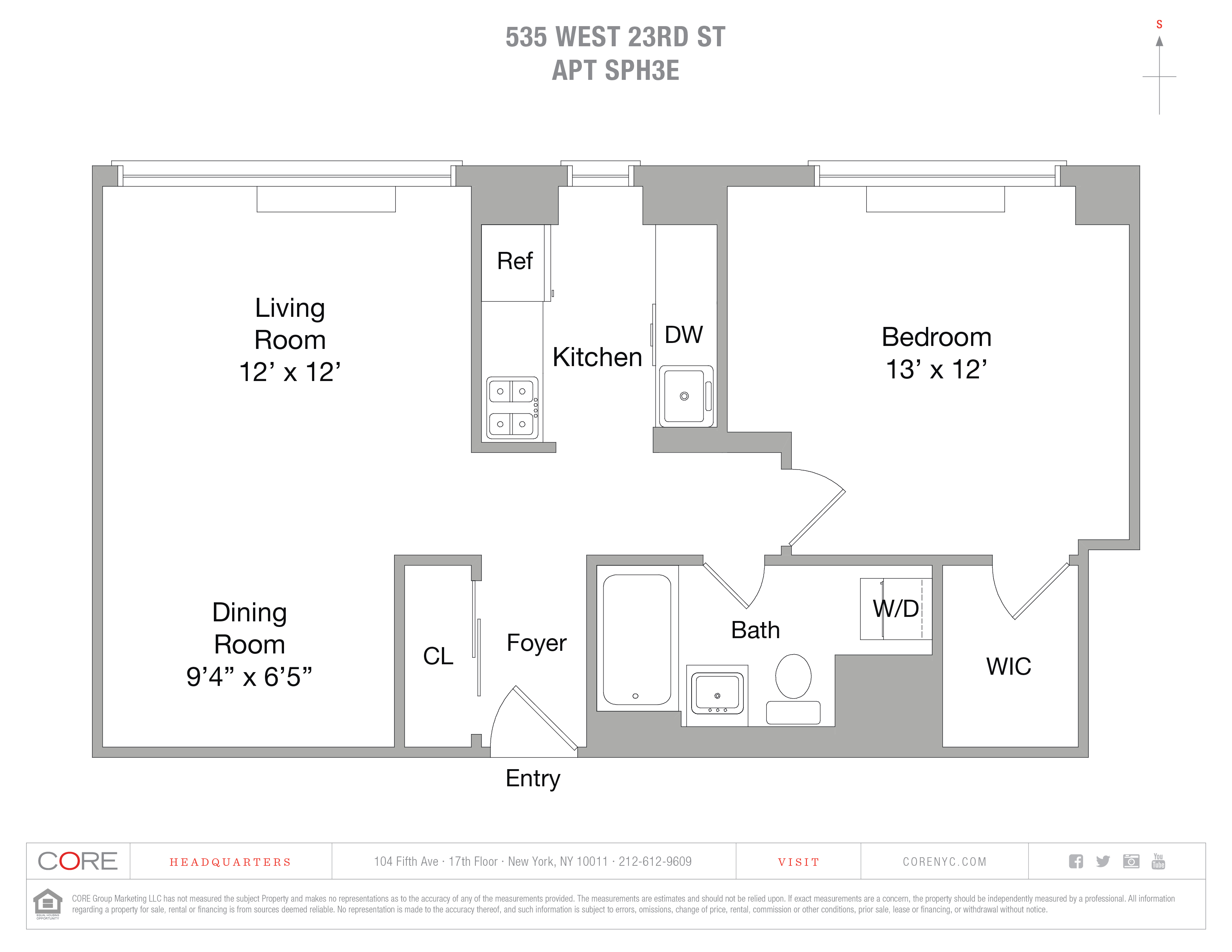 535 West 23rd St. SPH3E, New York, NY 10011