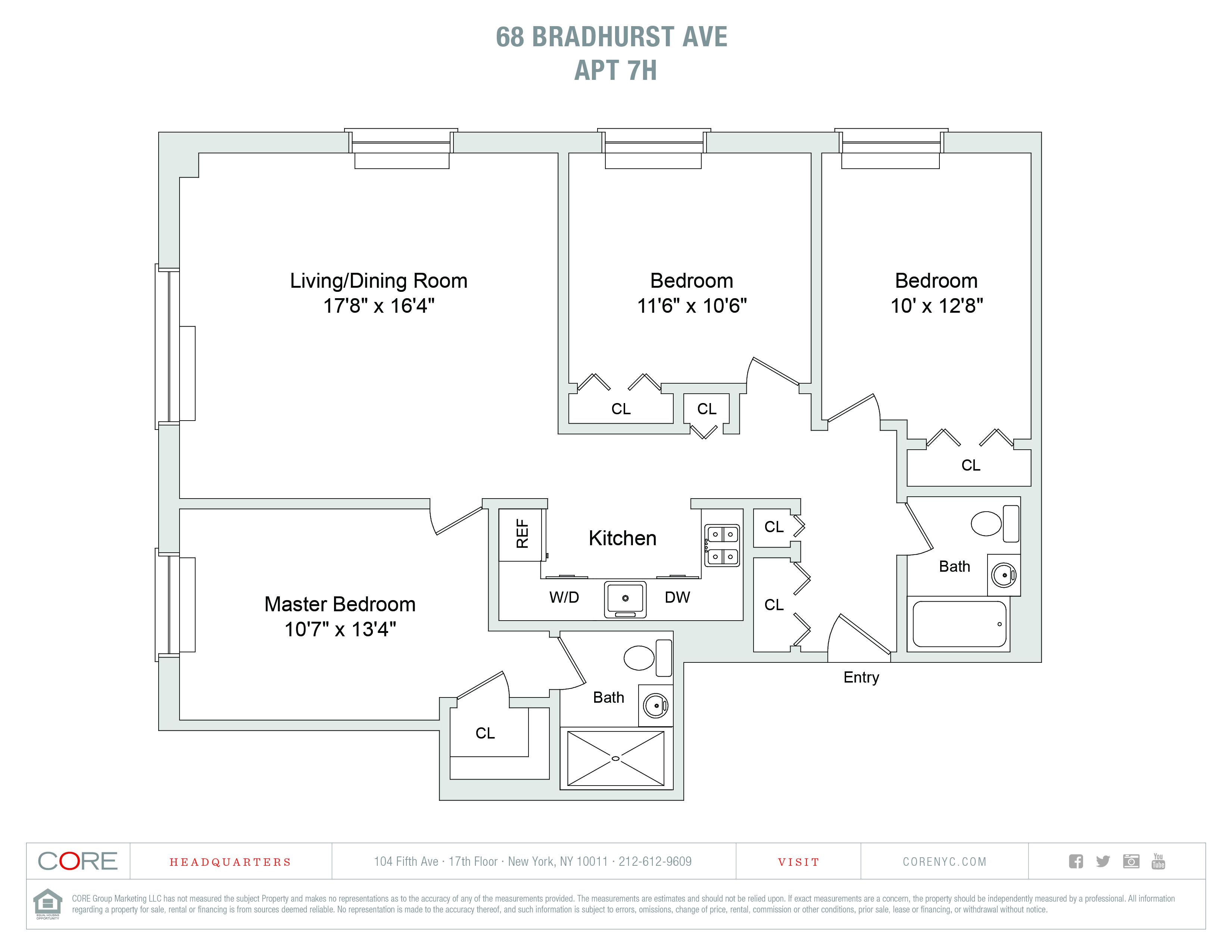 68 Bradhurst Ave. 7-H, New York, NY 10030