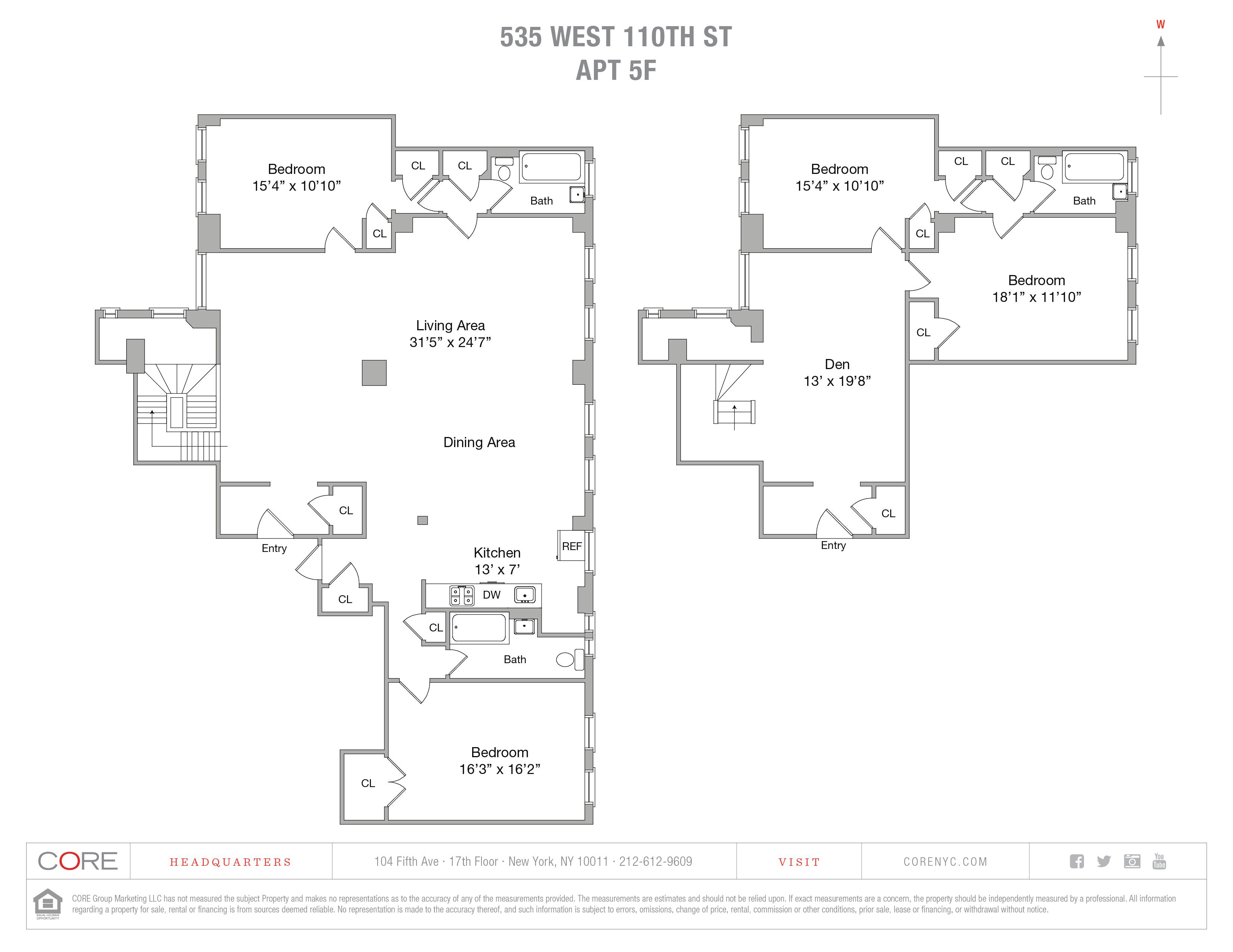 535 West 110th St. 5FG, New York, NY 10025