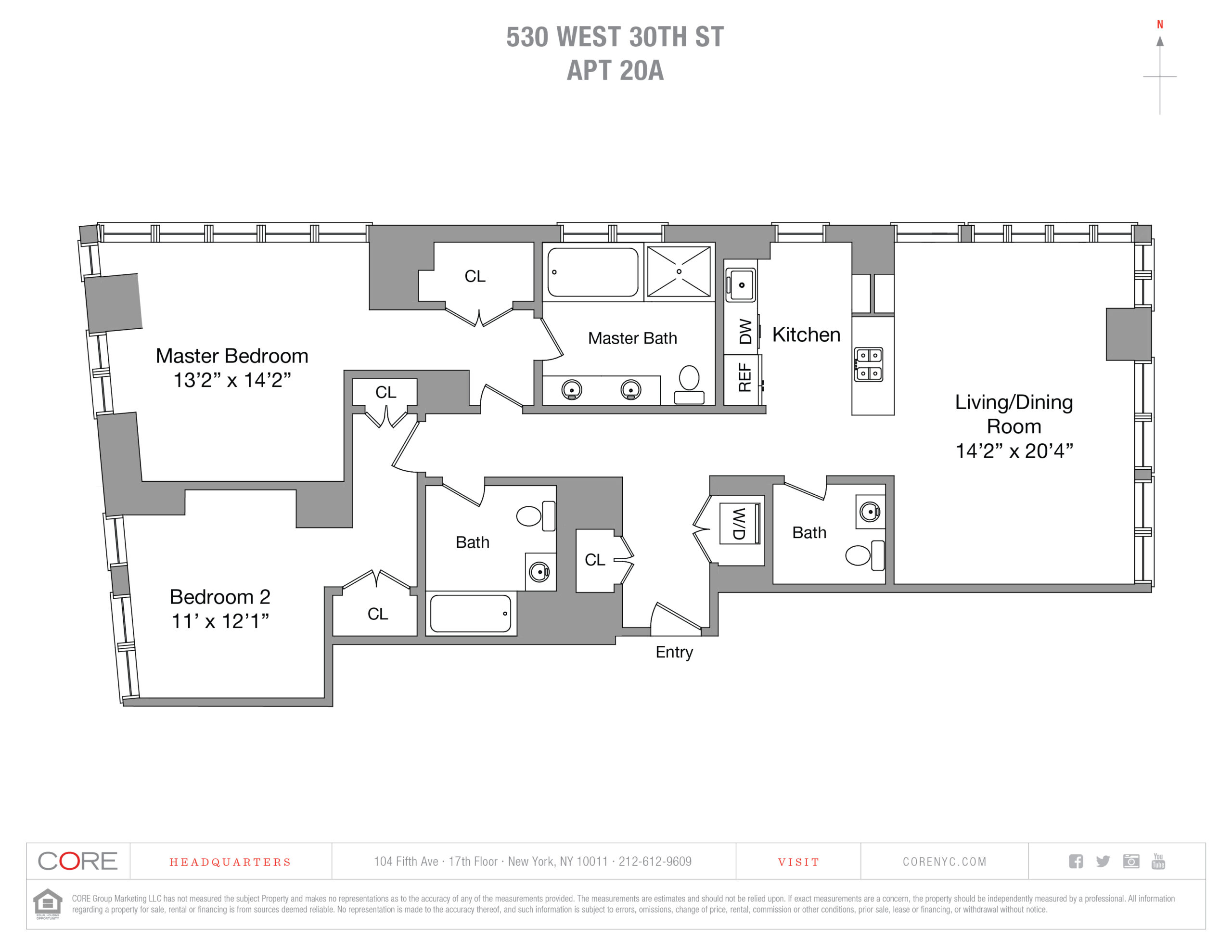 530 West 30th St. 20A, New York, NY 10001